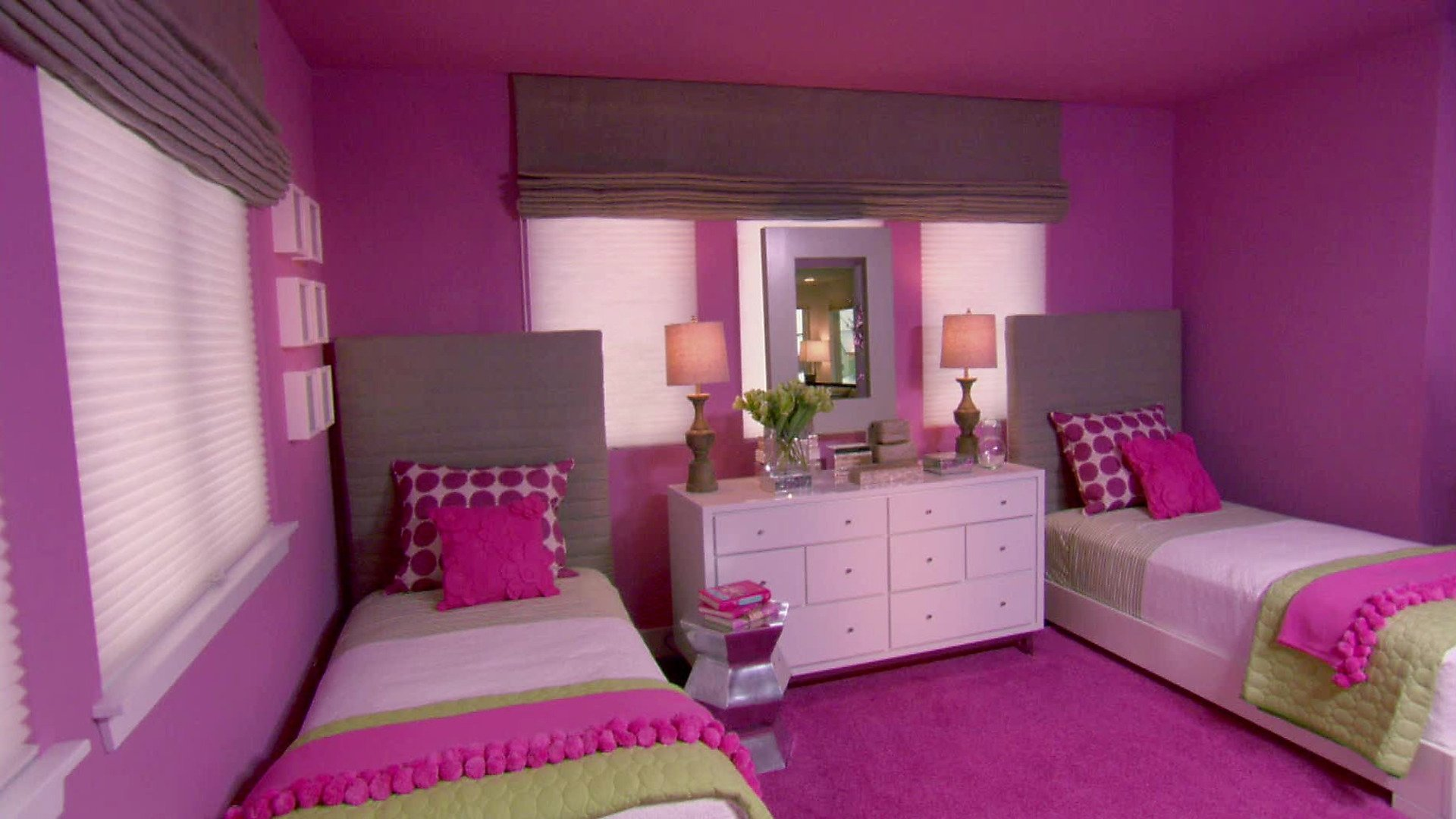 10 Lovable Paint Ideas For Girls Bedroom girls bedroom color schemes pictures options ideas hgtv