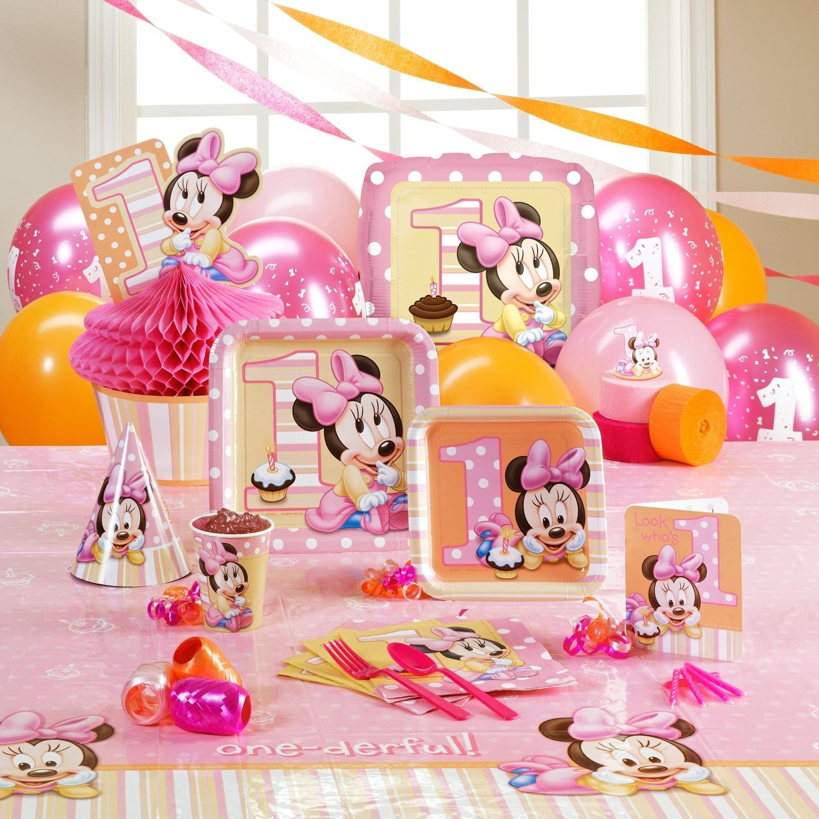 10 Cute Ideas For A 1 Year Old Birthday Party girls birthday party themes best decorations for 1 year old boy 2