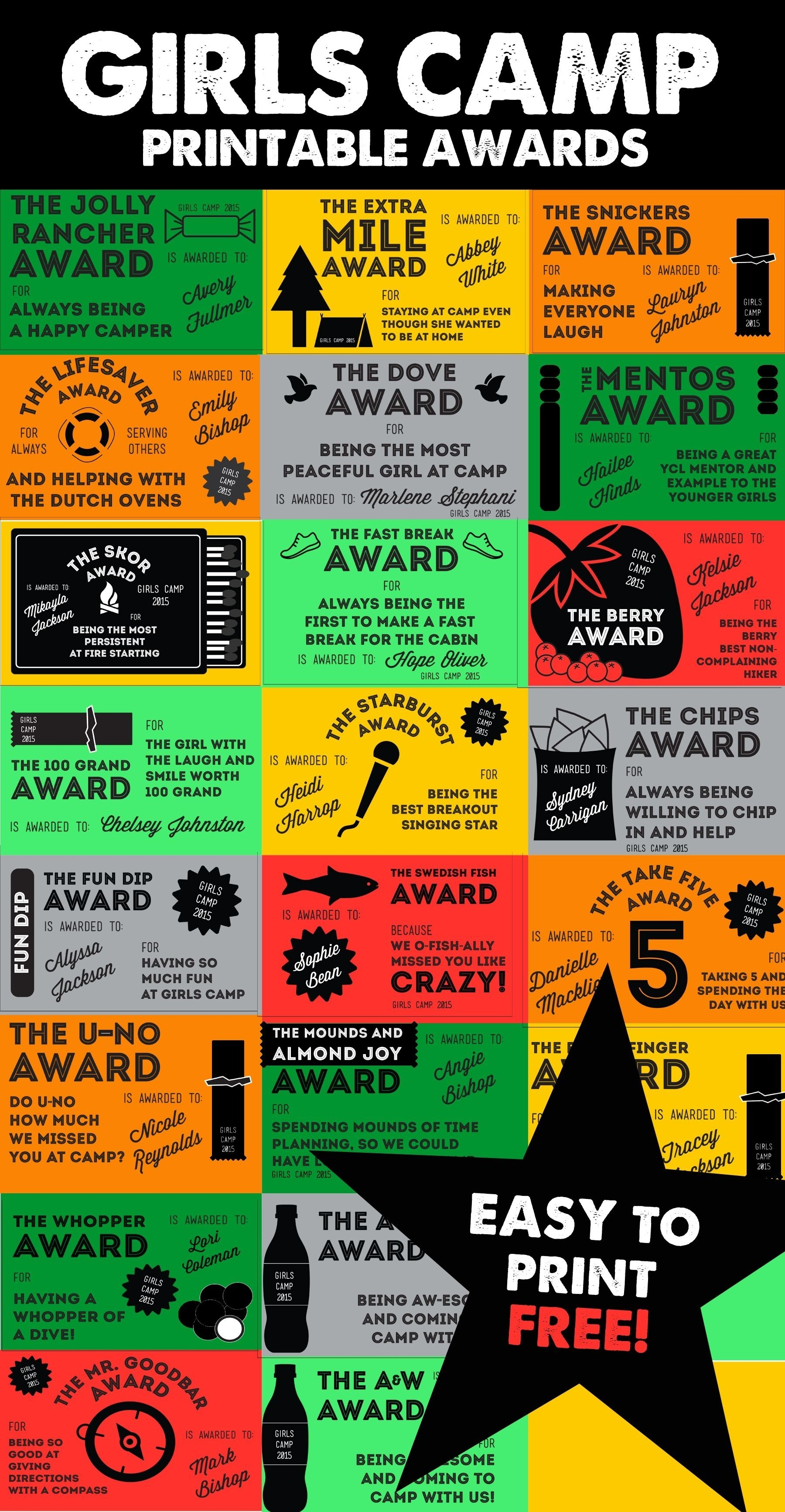 10 Beautiful Funny Award Ideas For Friends 2019