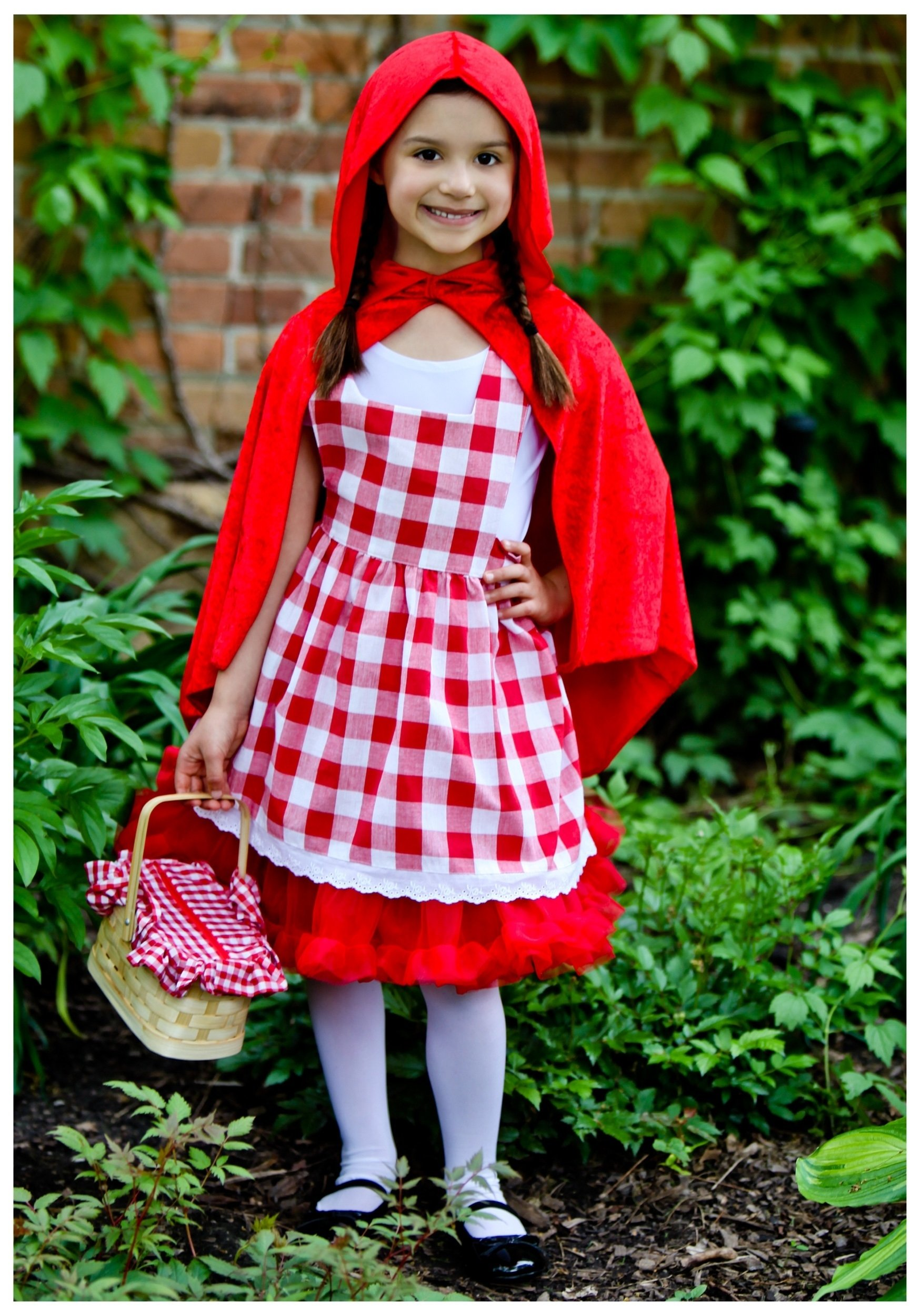 10 Pretty Little Red Riding Hood Costume Ideas girls checkered red riding hood tutu costume kids little red 2021