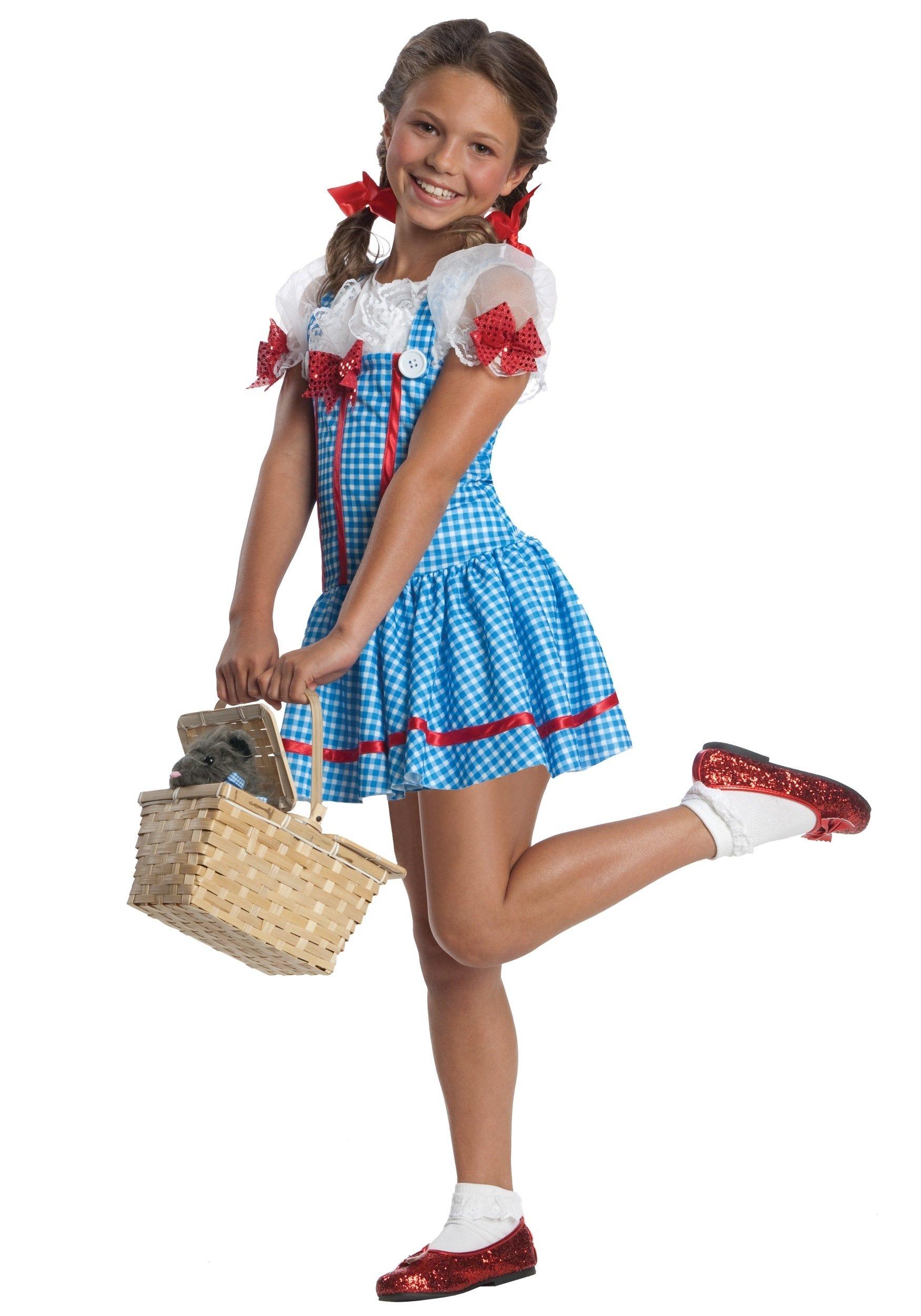 10 Fashionable Little Girl Halloween Costume Ideas girls dorothy costume 2020