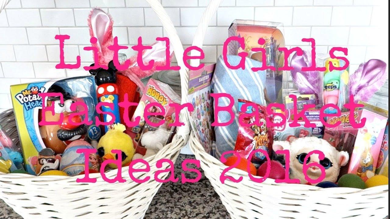 10 Wonderful Easter Basket Ideas For Girls girls easter basket ideas 2016 137 youtube 2021