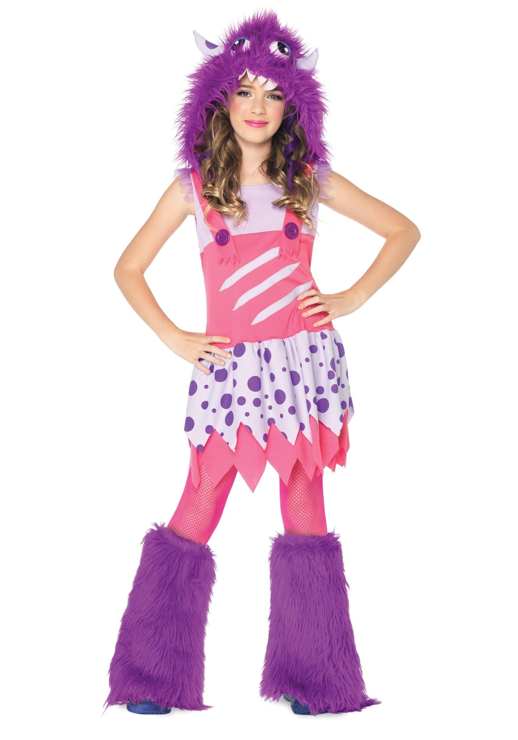 10 Unique Cute Halloween Costume Ideas For Girls girls furball monster costume halloween costume ideas 2016 3