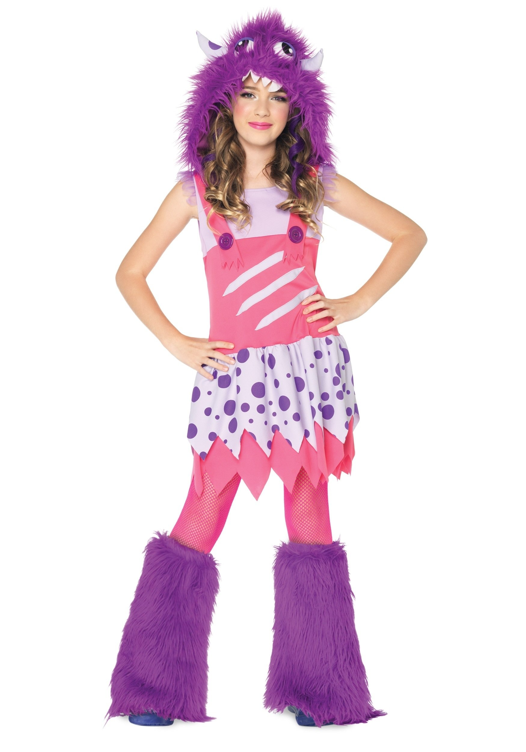 10 Fantastic Teenage Girls Halloween Costume Ideas girls furball monster costume halloween costume ideas 2016 7 2020