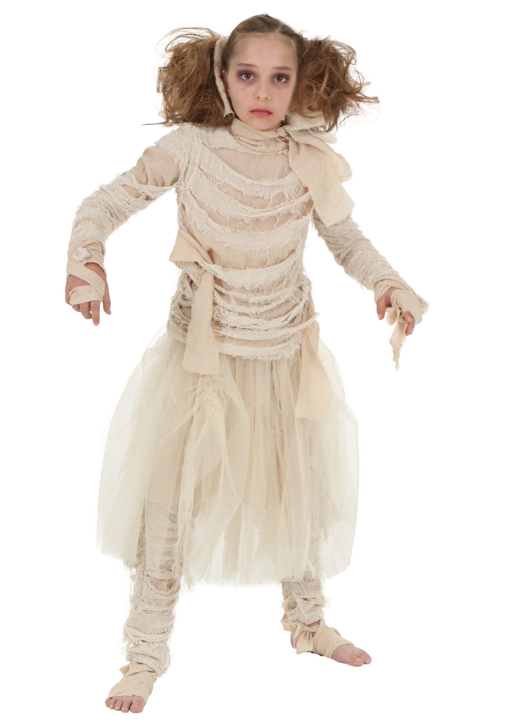 10 Fashionable Scary Costume Ideas For Girls girls mummy costume sierra pinterest costumes halloween ideas
