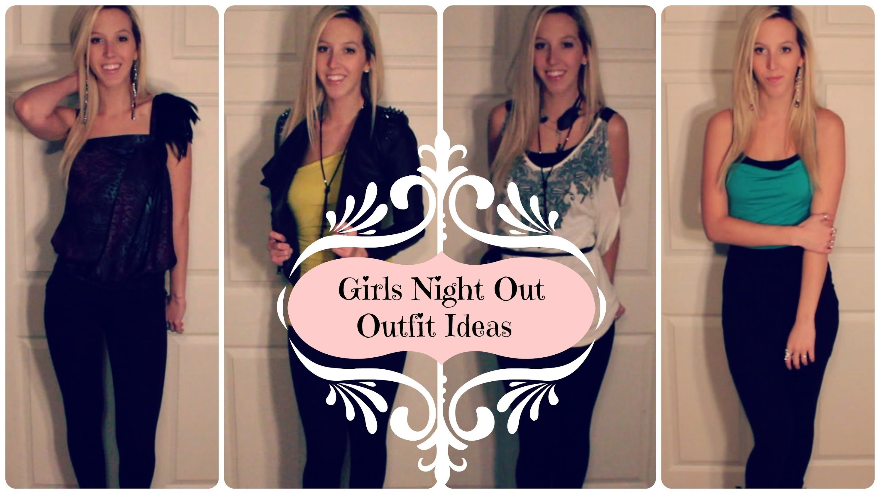 10 Stunning Girls Night Out Outfit Ideas girls night out outfit ideas lookbook youtube 2020