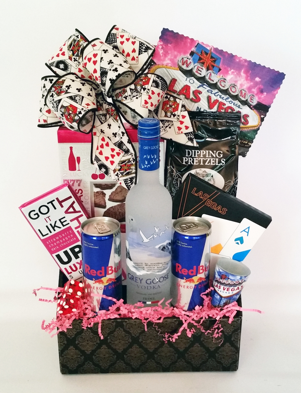 10 Lovely Girls Night Out Gift Ideas girls night out party weekend las vegas style gift basket just add 2020