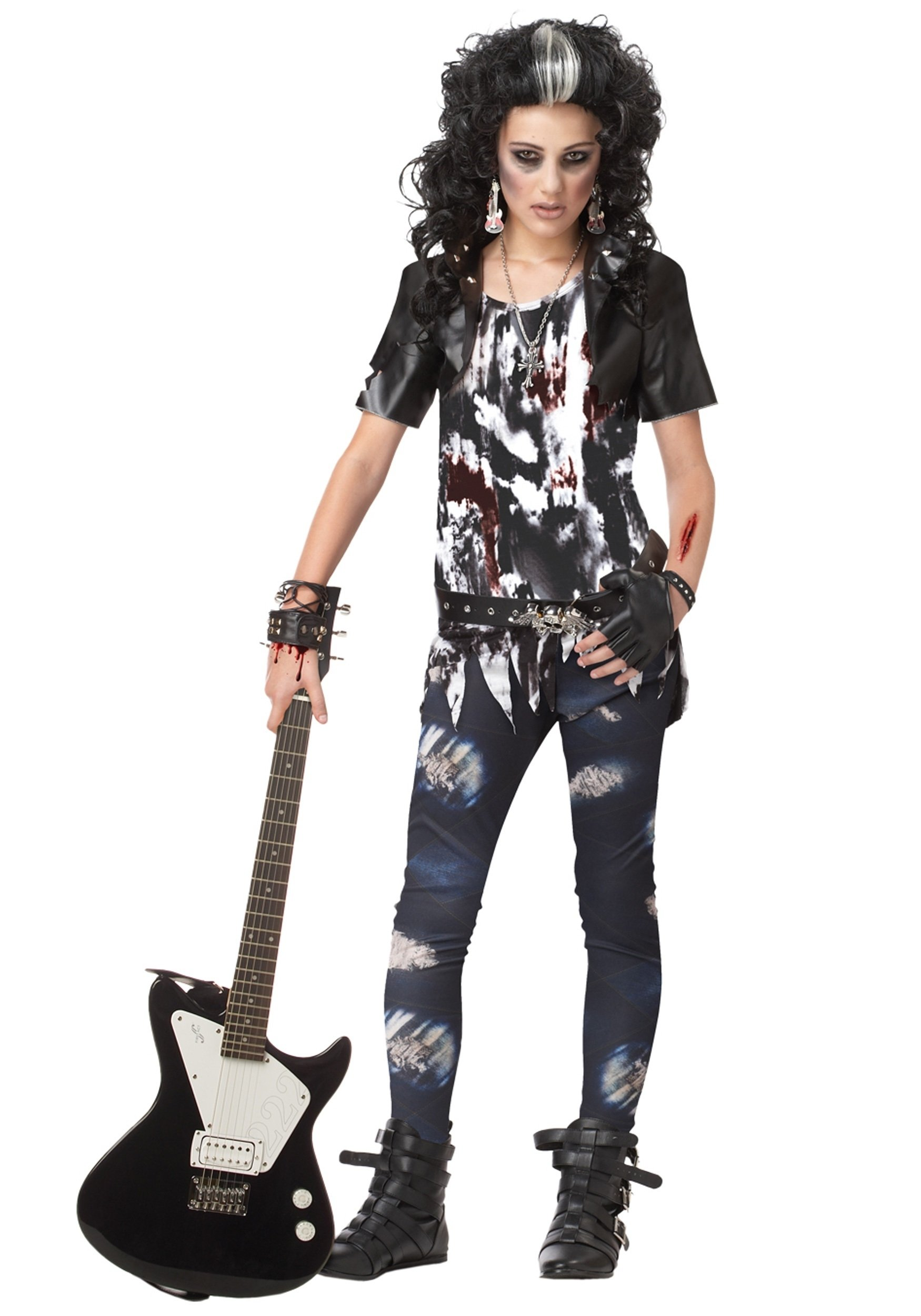 10 Pretty Rock Star Halloween Costume Ideas girls rock star halloween costume costume ideas classic  sc 1 st  Unique Ideas 2018 & 10 Pretty Rock Star Halloween Costume Ideas