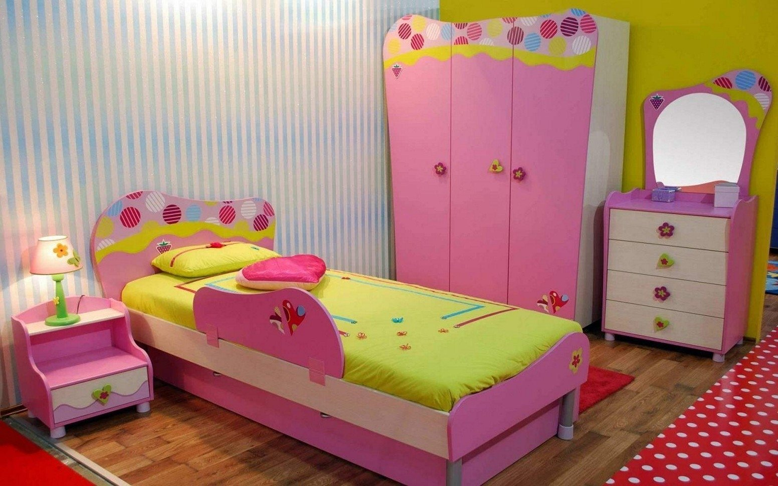 10 Wonderful Painting Ideas For Girls Room girls room paint ideas stripes