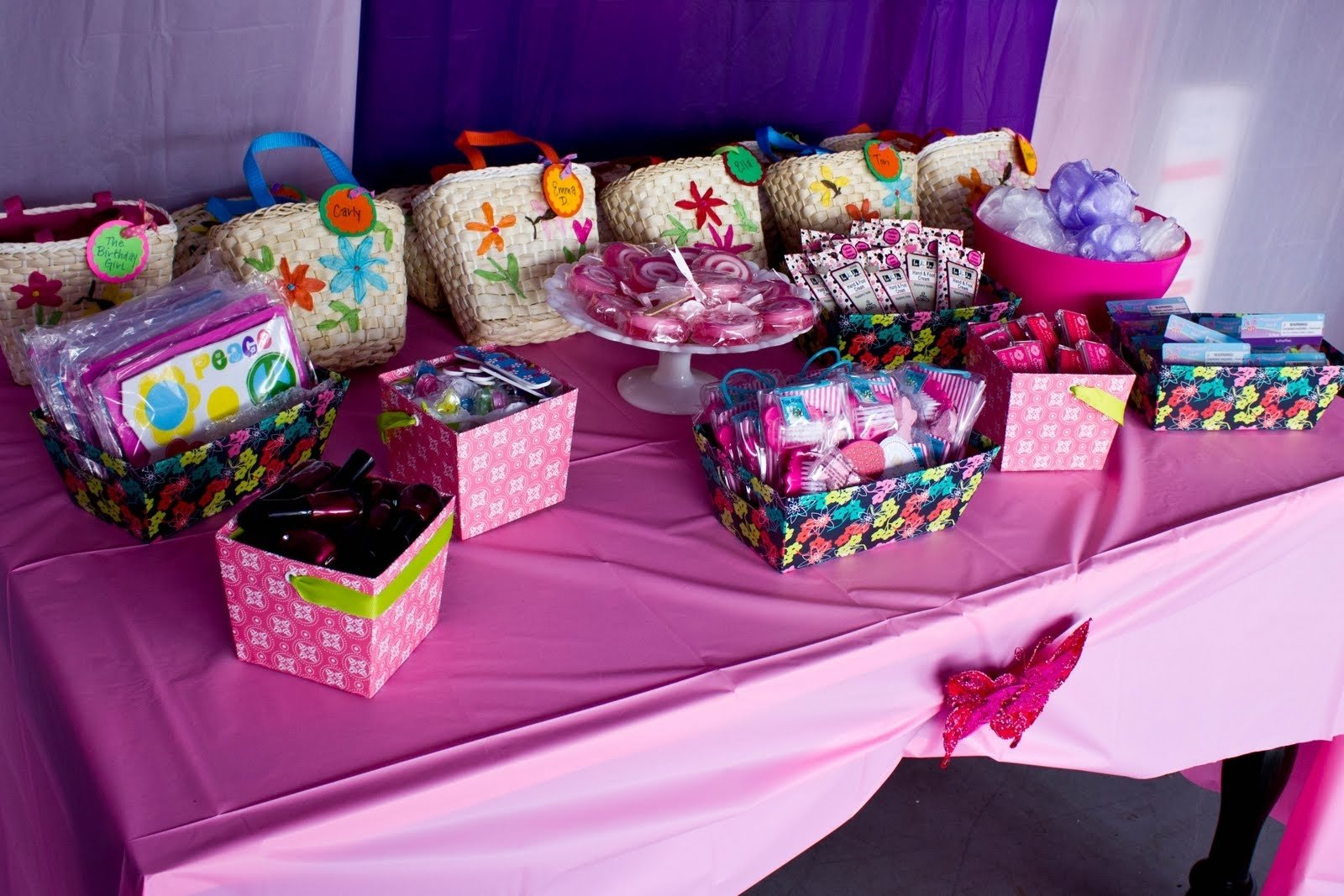 10 Stunning Ideas For Girls Birthday Party girls spa birthday party ideas pool design ideas 4 2020
