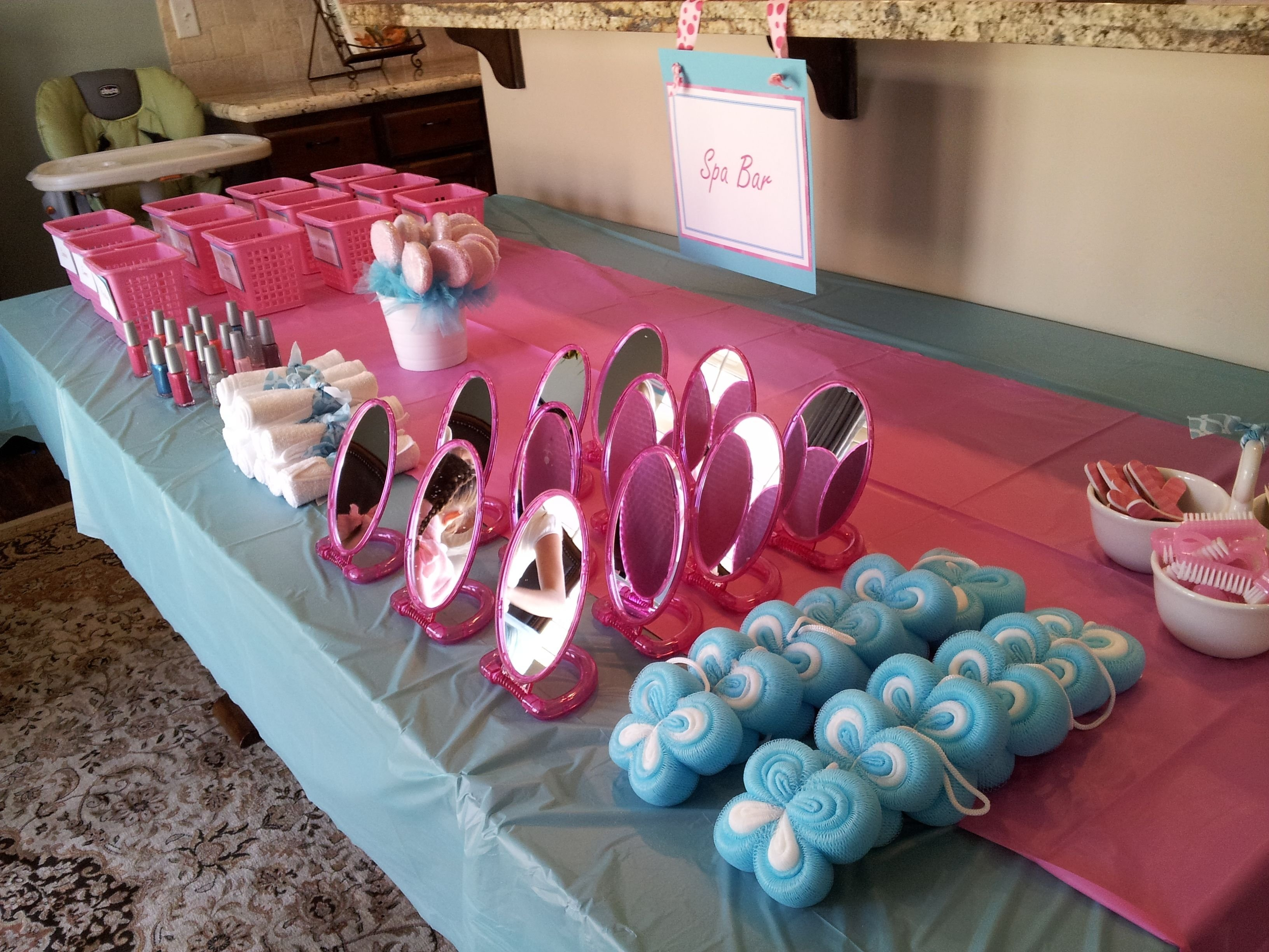 10 Gorgeous Spa Party Ideas For Girls girls spa party how to throw a spa party mykidsentertainment 2021