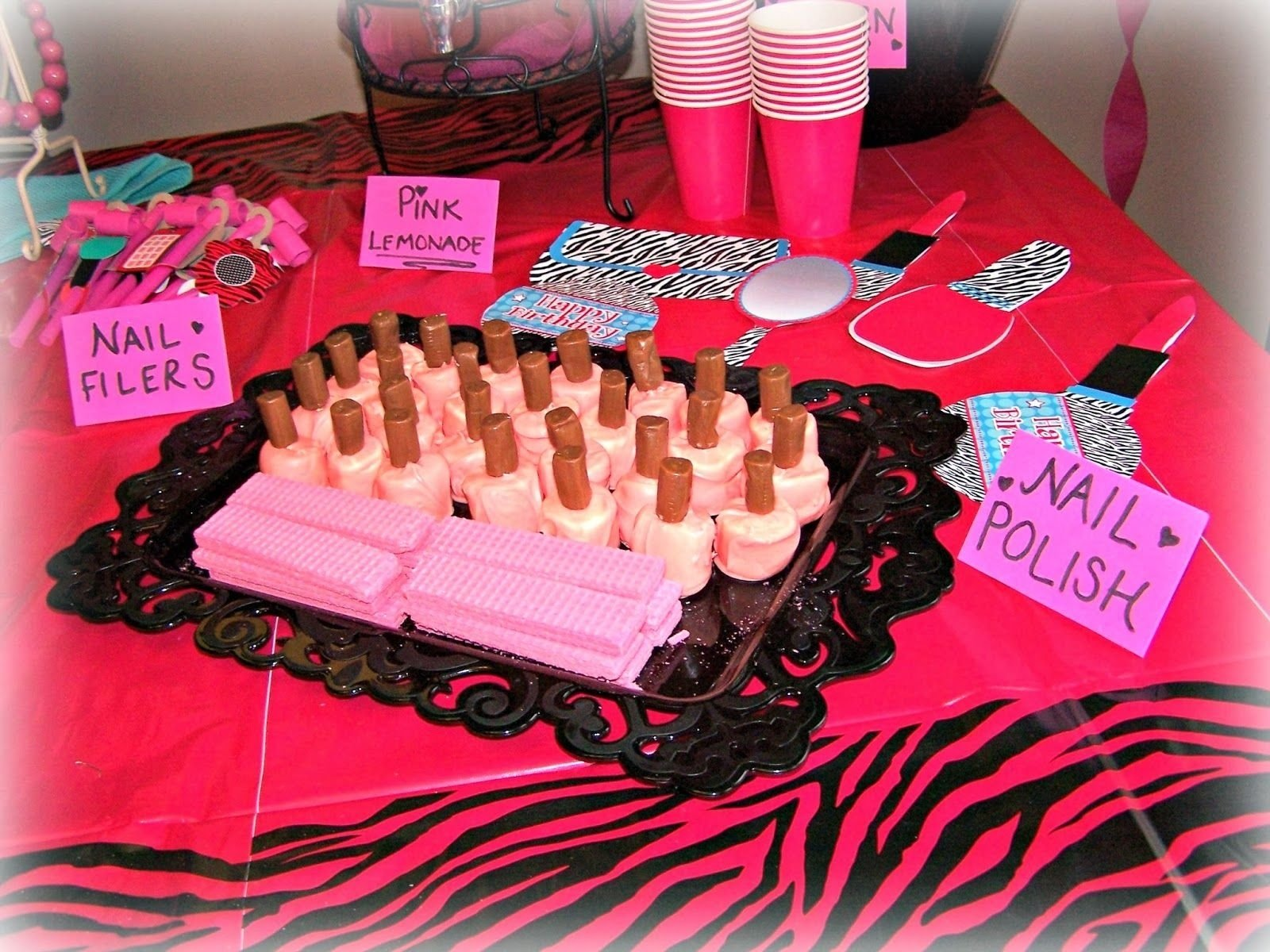 10 Most Popular Spa Party Ideas For Little Girls girls spa party ideas food how to throw a spa boutique birthday 1 2020