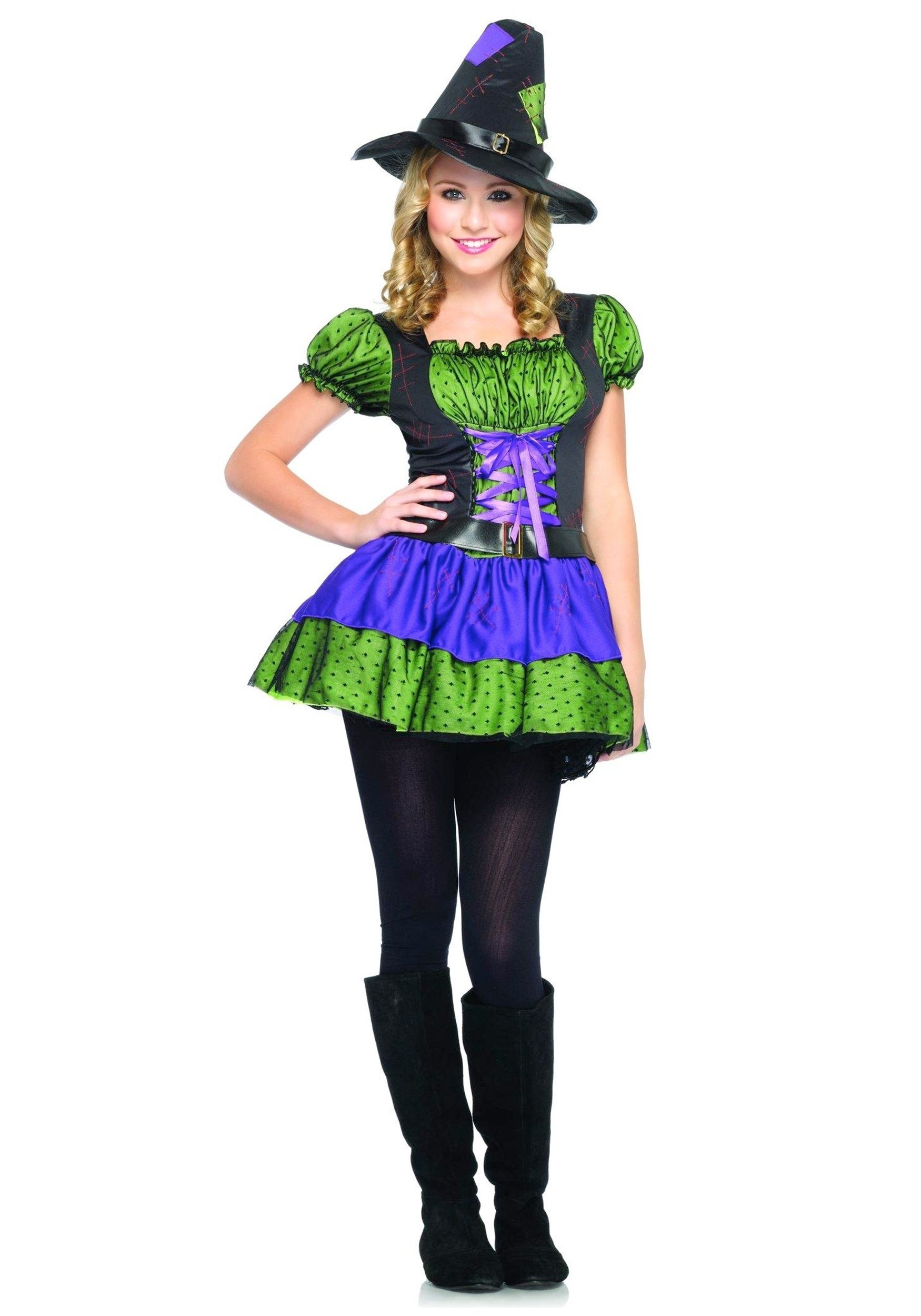 10 Fantastic Halloween Costumes For Teenage Girls Ideas girls teen colorful witch costume costumes for teens
