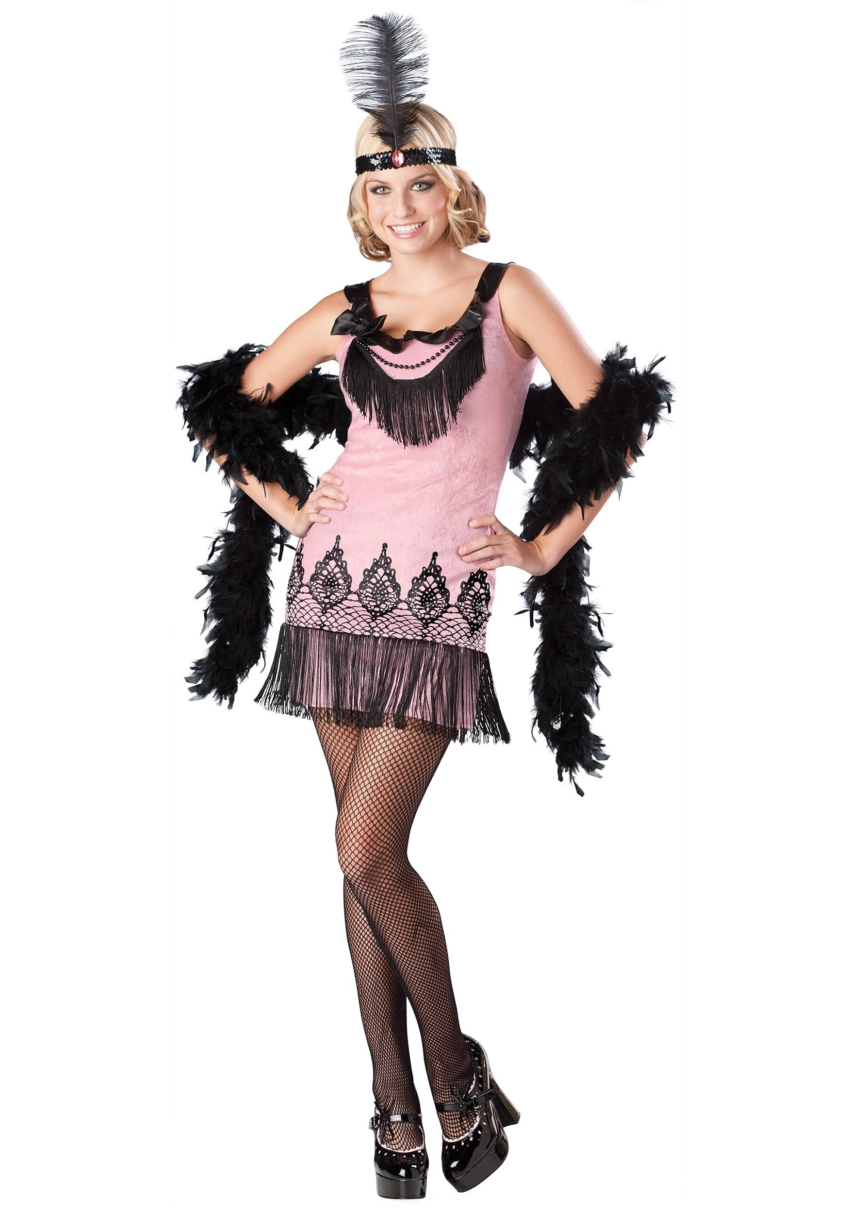 10 Fantastic Teenage Girls Halloween Costume Ideas girls teen flapper costume 2020