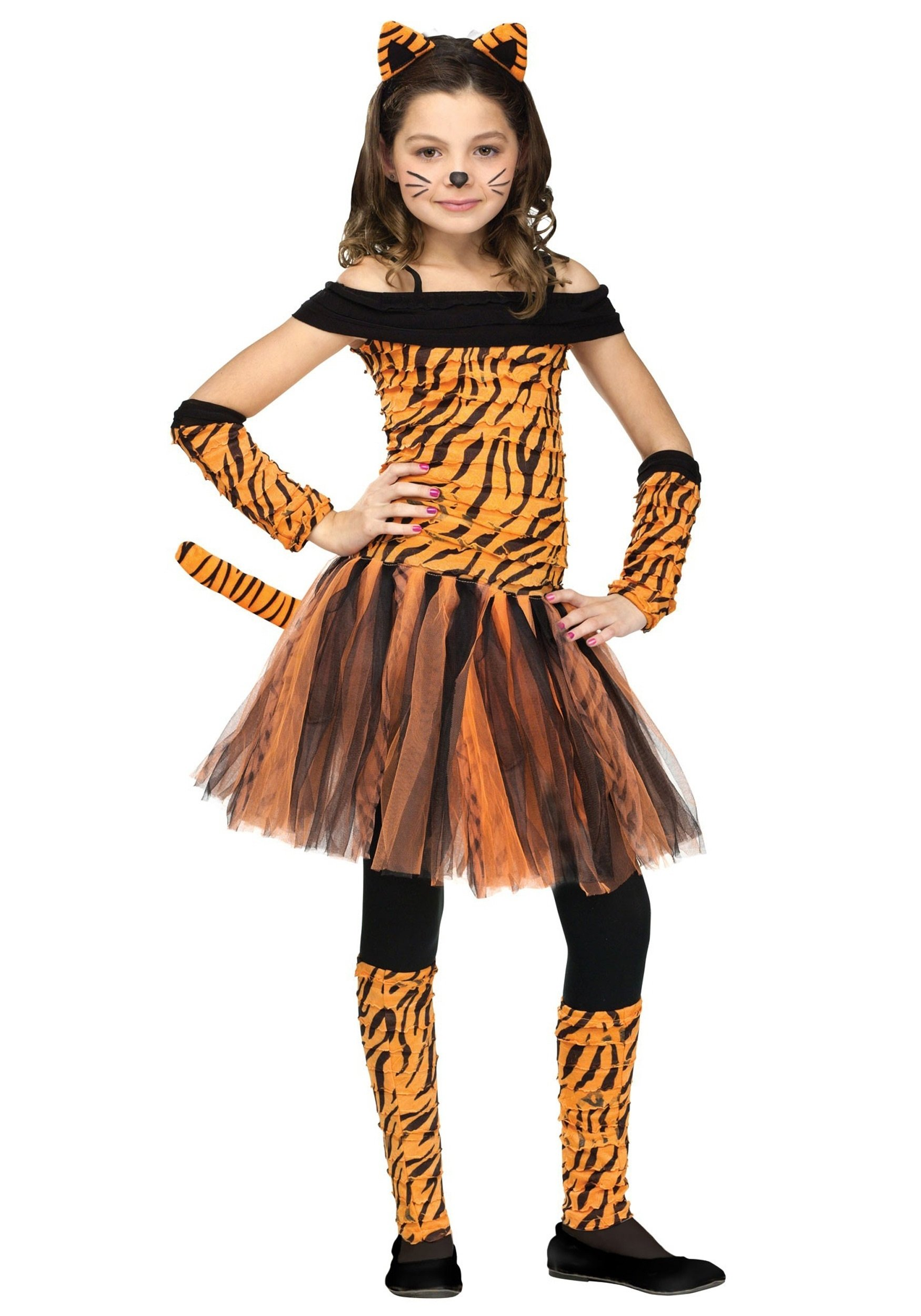 10 Nice Ideas For Halloween Costumes For Girls girls tigress costume 2020