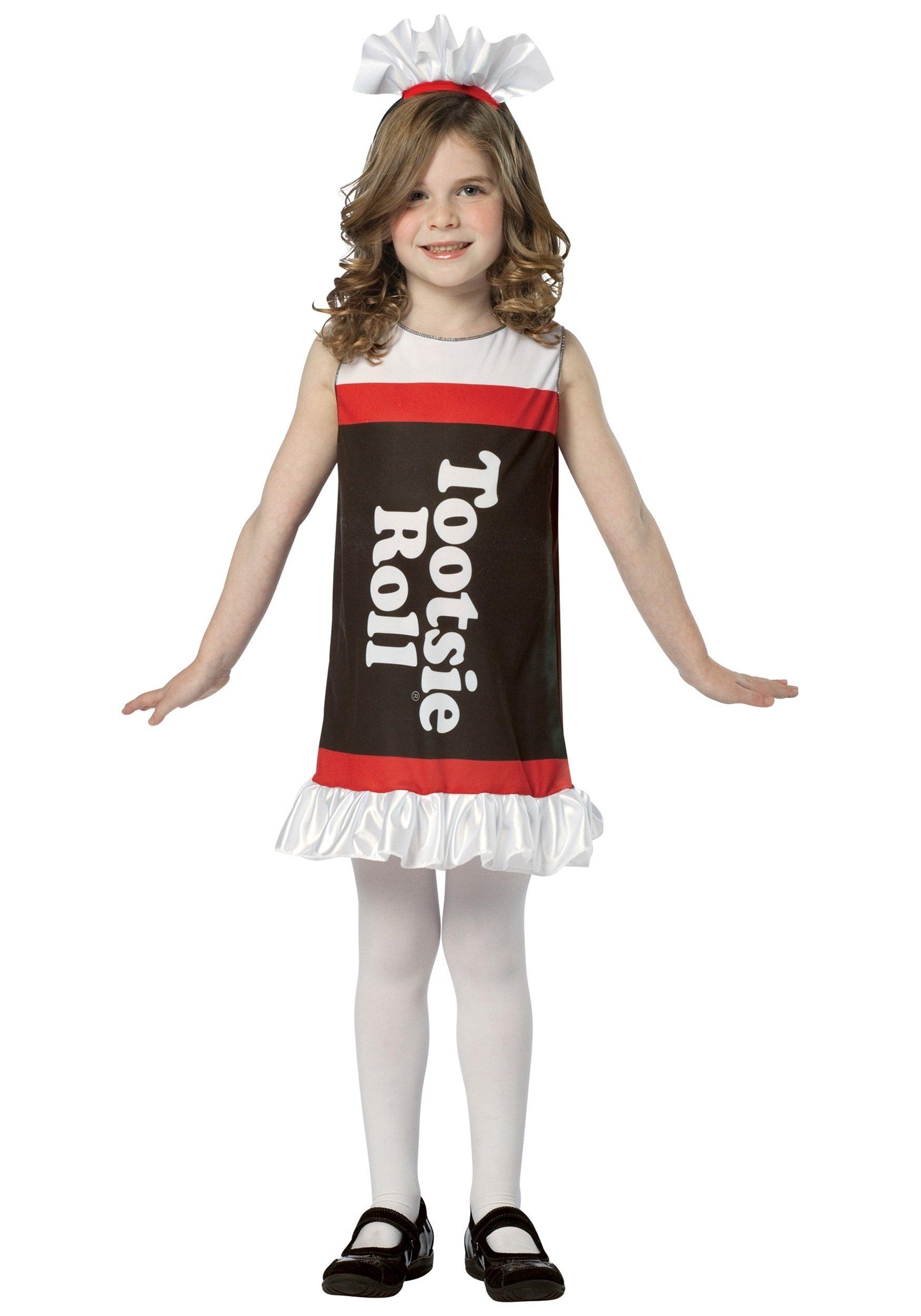 10 Lovable Boy Girl Halloween Costume Ideas girls tootsie roll dress 14 2021