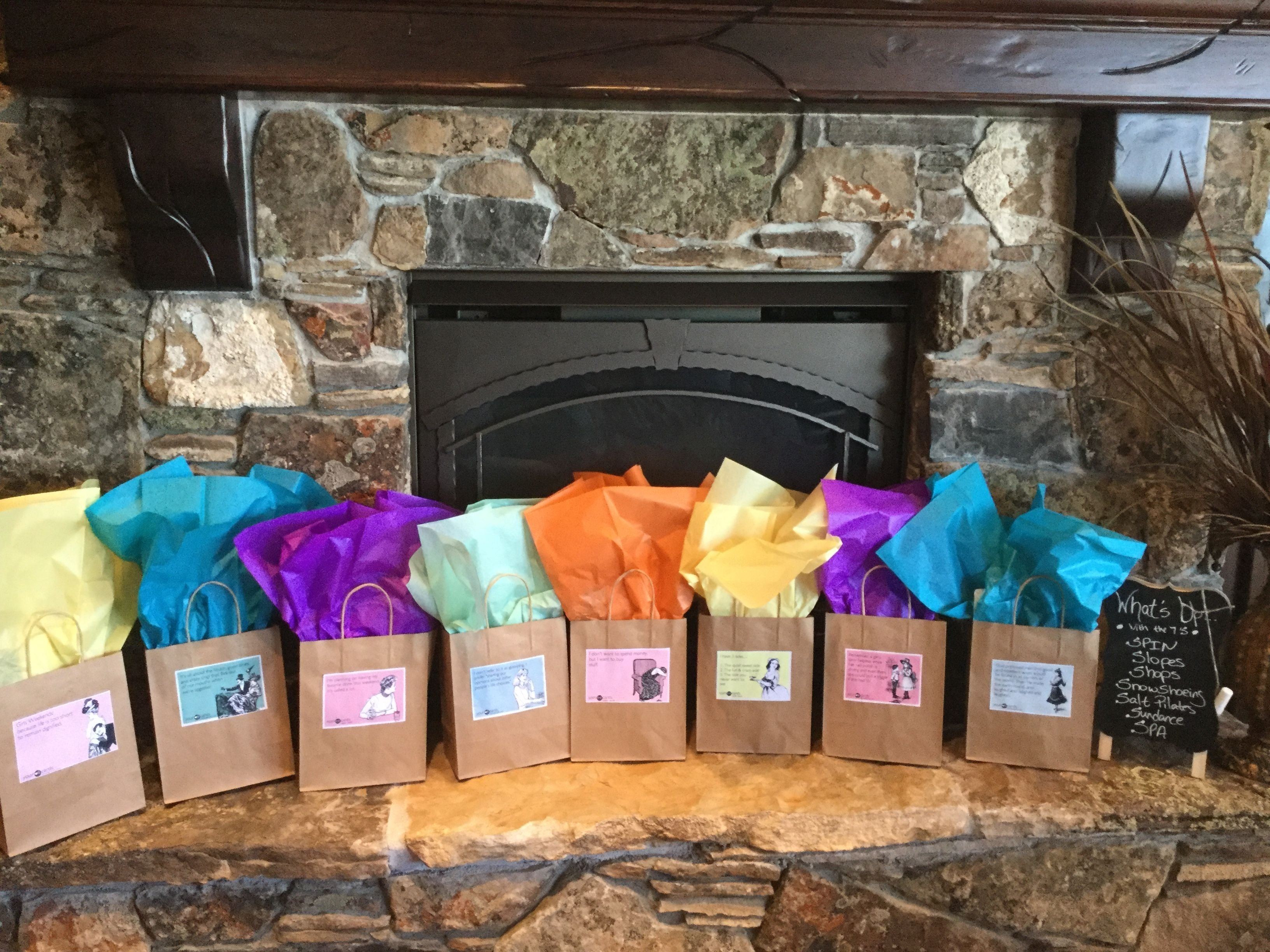 10 Lovely Girls Weekend Gift Bag Ideas girls weekend gift bag ideas credit a truett idea random 2020