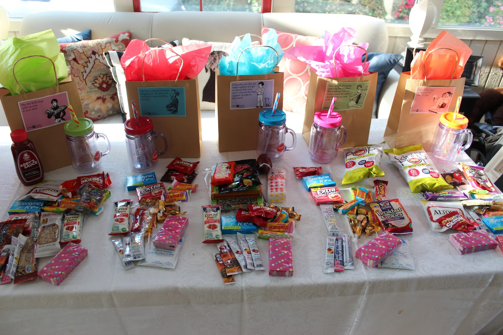 10 Lovely Goody Bag Ideas For Girls girls weekend goody bags southern state of mind blogheather 2020