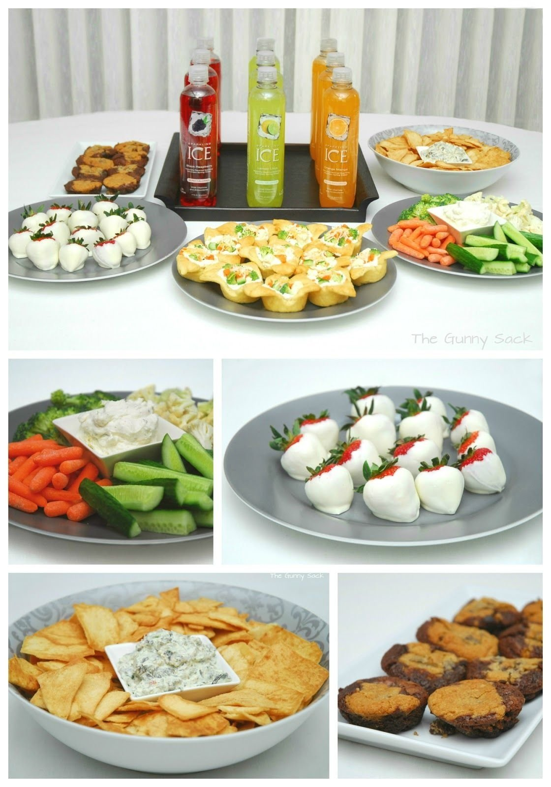 10 Stylish Party Snack Ideas For Adults girlsspapartyideasfood girlfriends pampering spa party