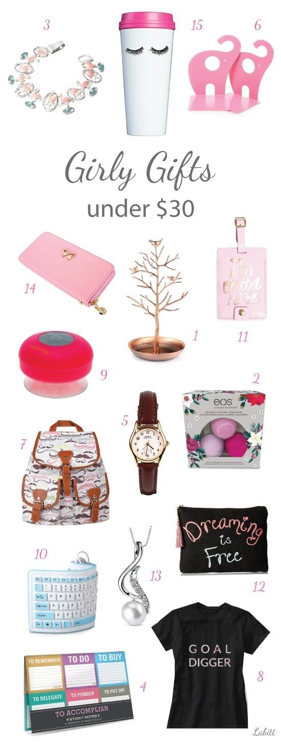 10 Best Secret Santa Ideas For Women girly gifts for women under 30 young women college girls and 3 2021