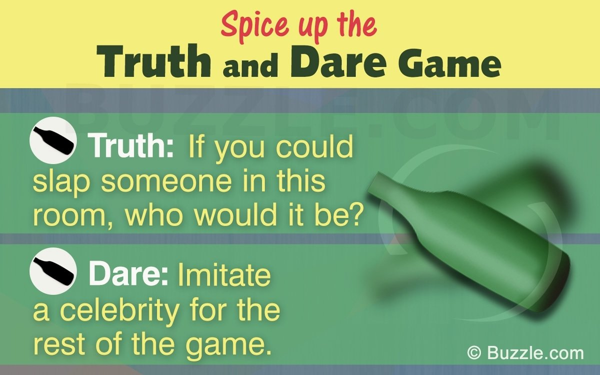 10 Best Ideas For Truth Or Dare give life to your party with these great truth or dare ideas 2 2020