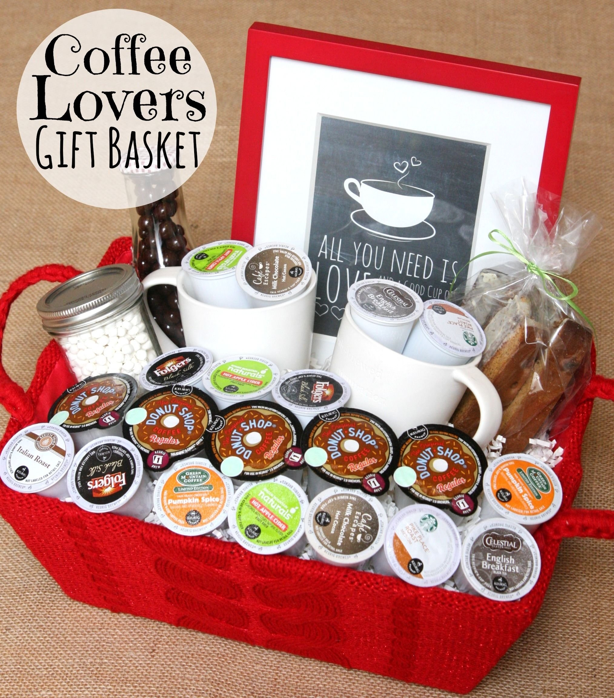 10 Fashionable Ideas For A Gift Basket give the gift of coffee coffee lover gifts lovers and coffee 2020