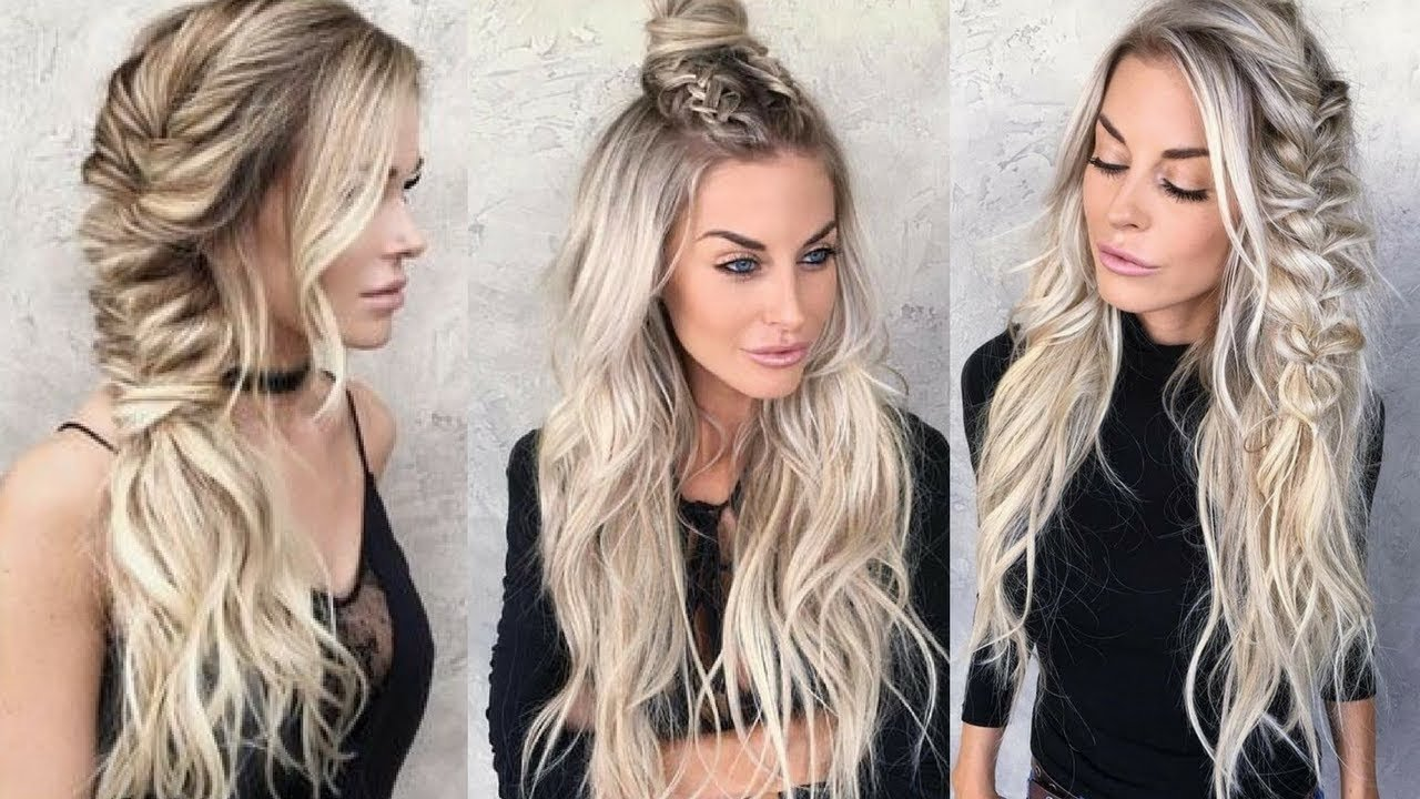 10 Famous Hairstyles Ideas For Long Hair glam hairstyle ideas for long hair youtube 2020