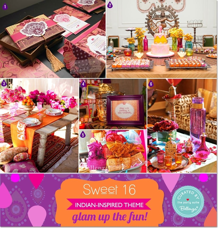 10 Great Ideas For 16Th Birthday Girl glam up the fun its a bollywood inspired sweet 16 soiree 2021