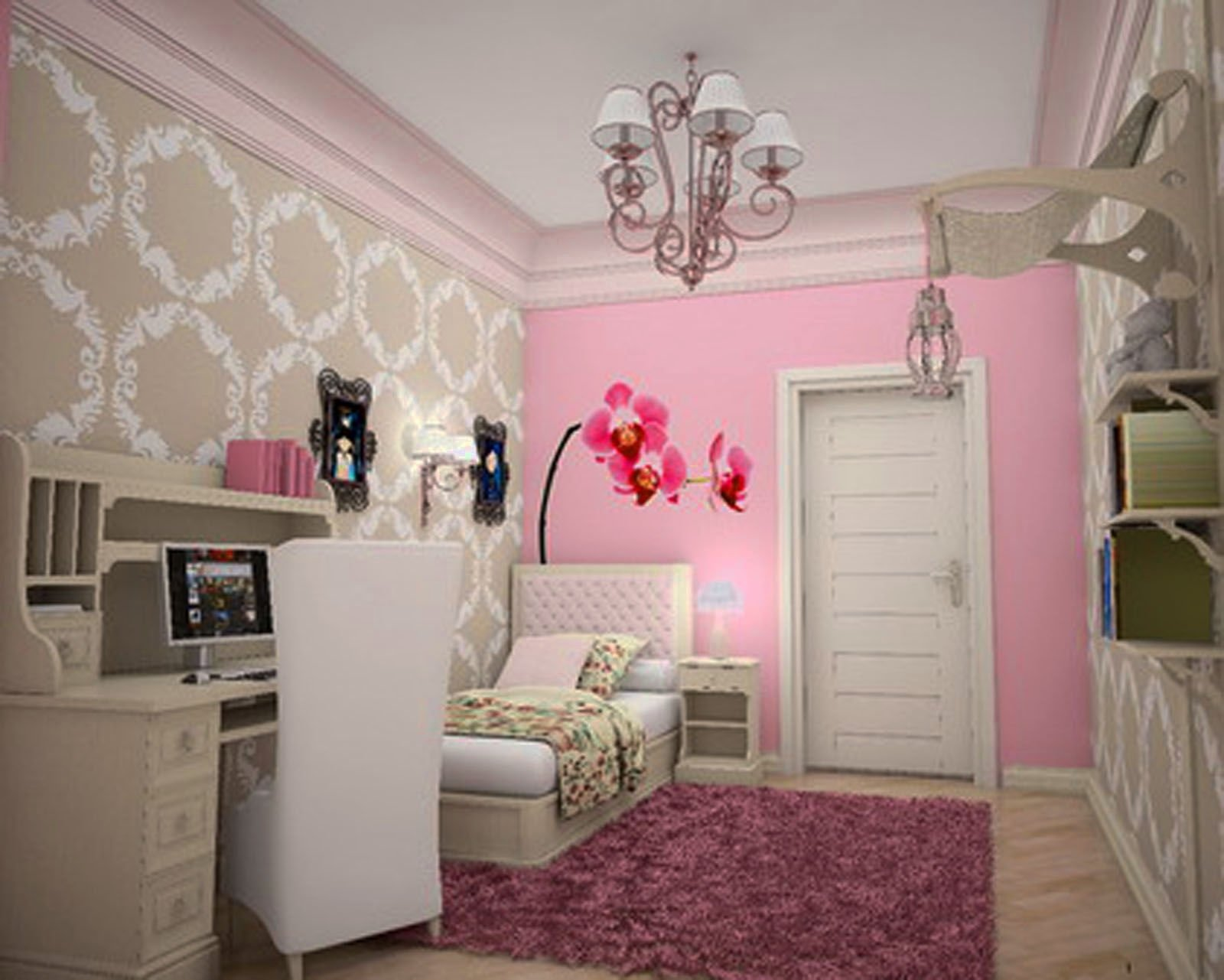 10 Most Recommended Small Teenage Girl Bedroom Ideas 2021