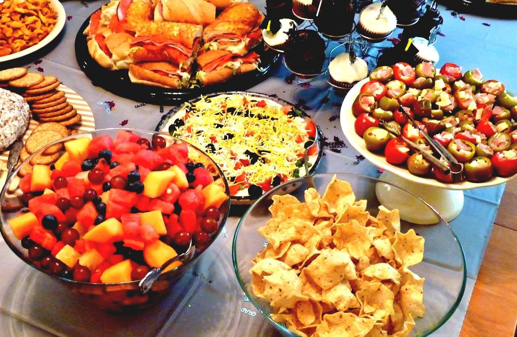 10 Elegant Ideas For Graduation Party Food glancing mary berry goats cheese shallot tart recipe graduation 2021