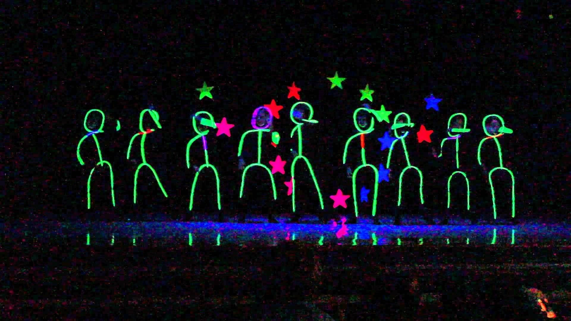 10 Awesome 5Th Grade Talent Show Ideas glow in the draw stick figures dancing talent show ideas 1