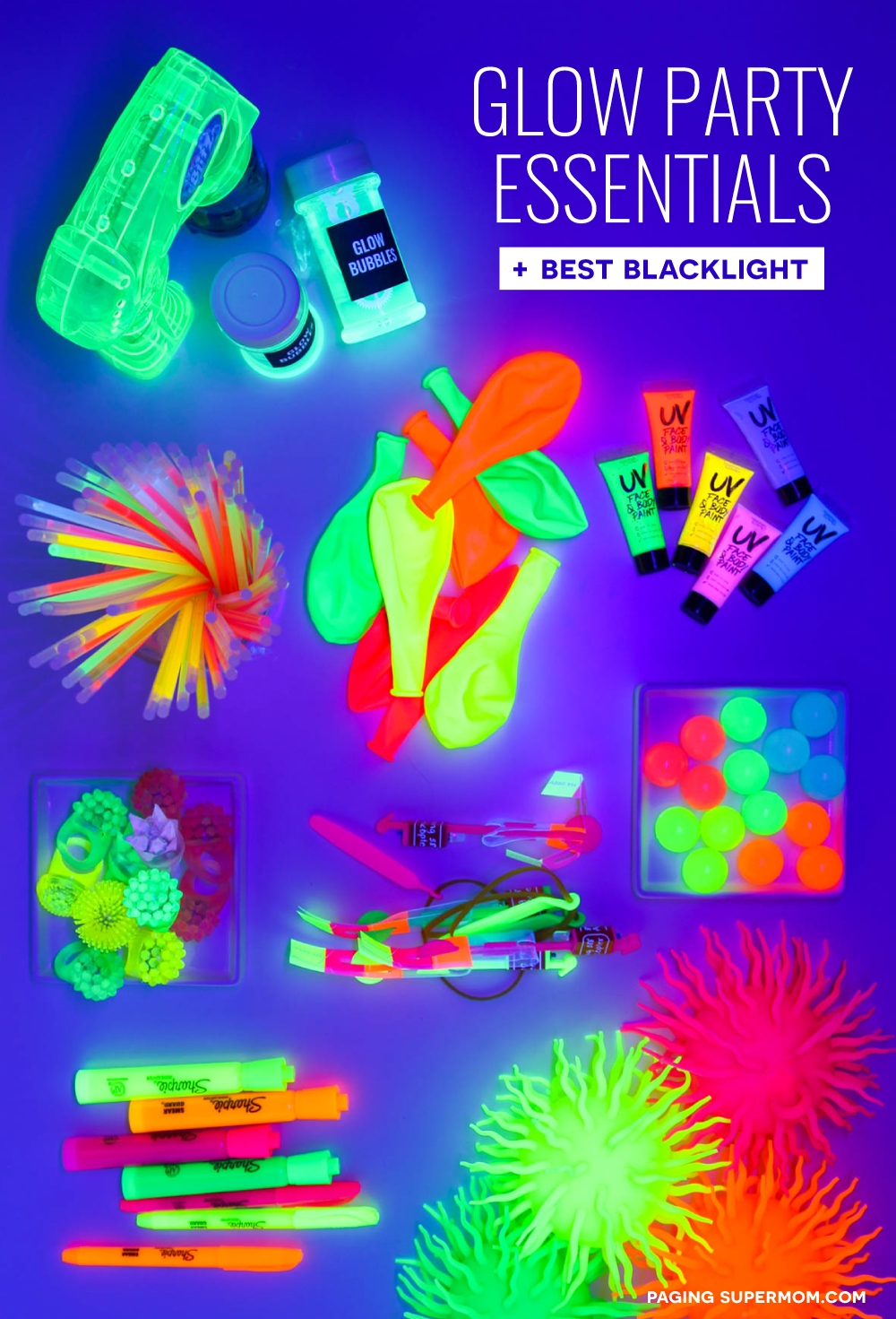 10 Lovely Glow In The Dark Party Ideas glow party ideas ultimate guide how to throw a black light party 1
