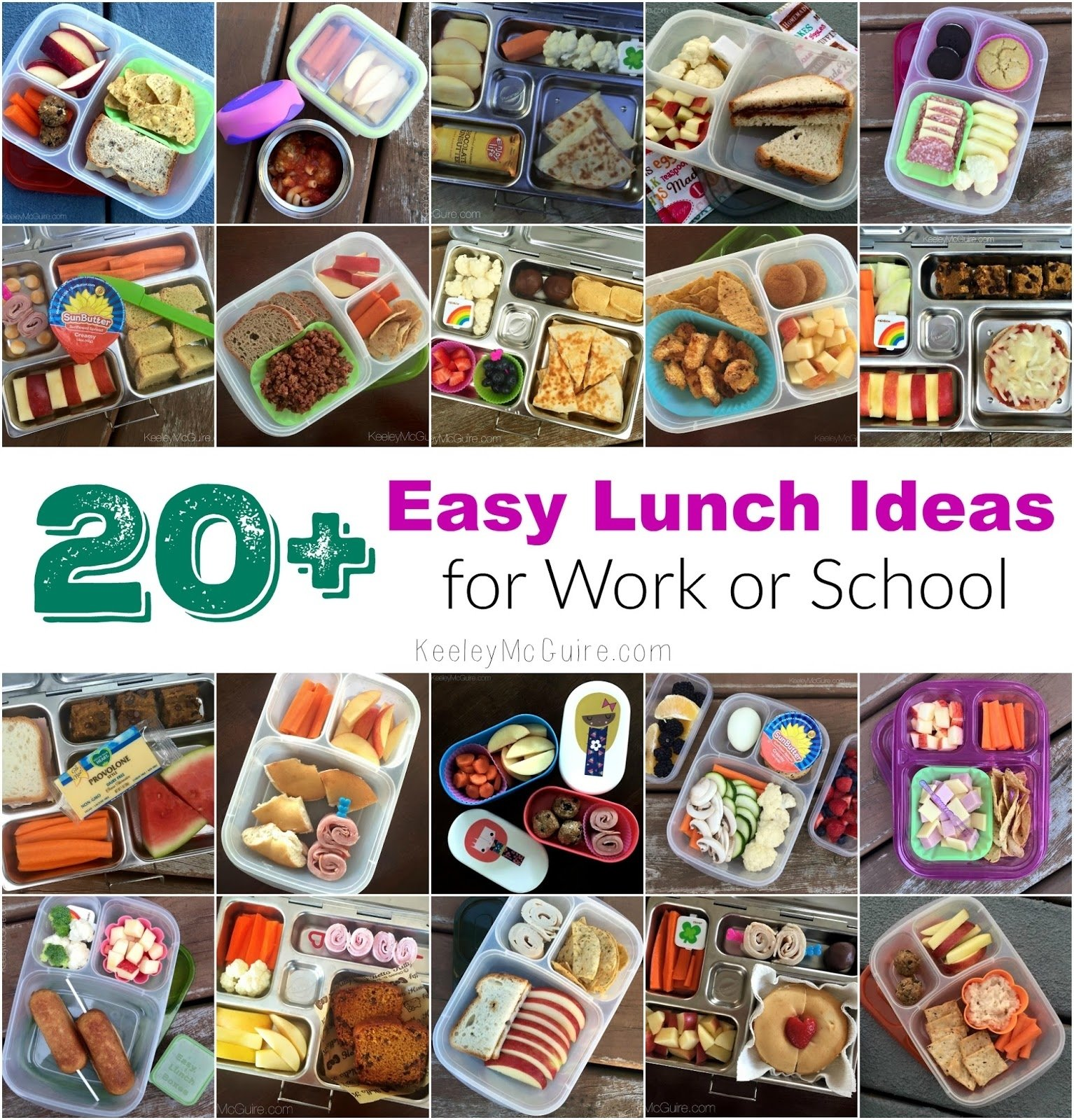 10 Perfect Quick And Easy Lunch Ideas For Work gluten free allergy friendly 20 easy lunch ideas for work or school 1 2020