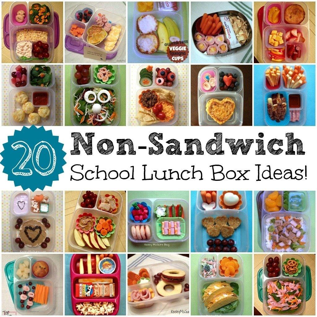 10 Stylish Lunch Ideas For High School gluten free allergy friendly lunch made easy 20 non sandwich 11 2020