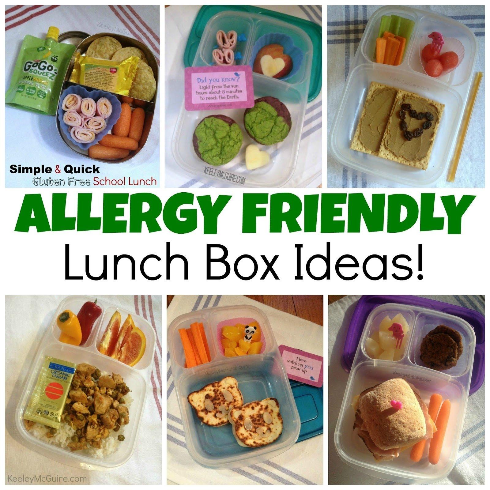 10 Pretty Gluten Free Lunch Ideas For Kids gluten free allergy friendly lunch made easy allergy friendly