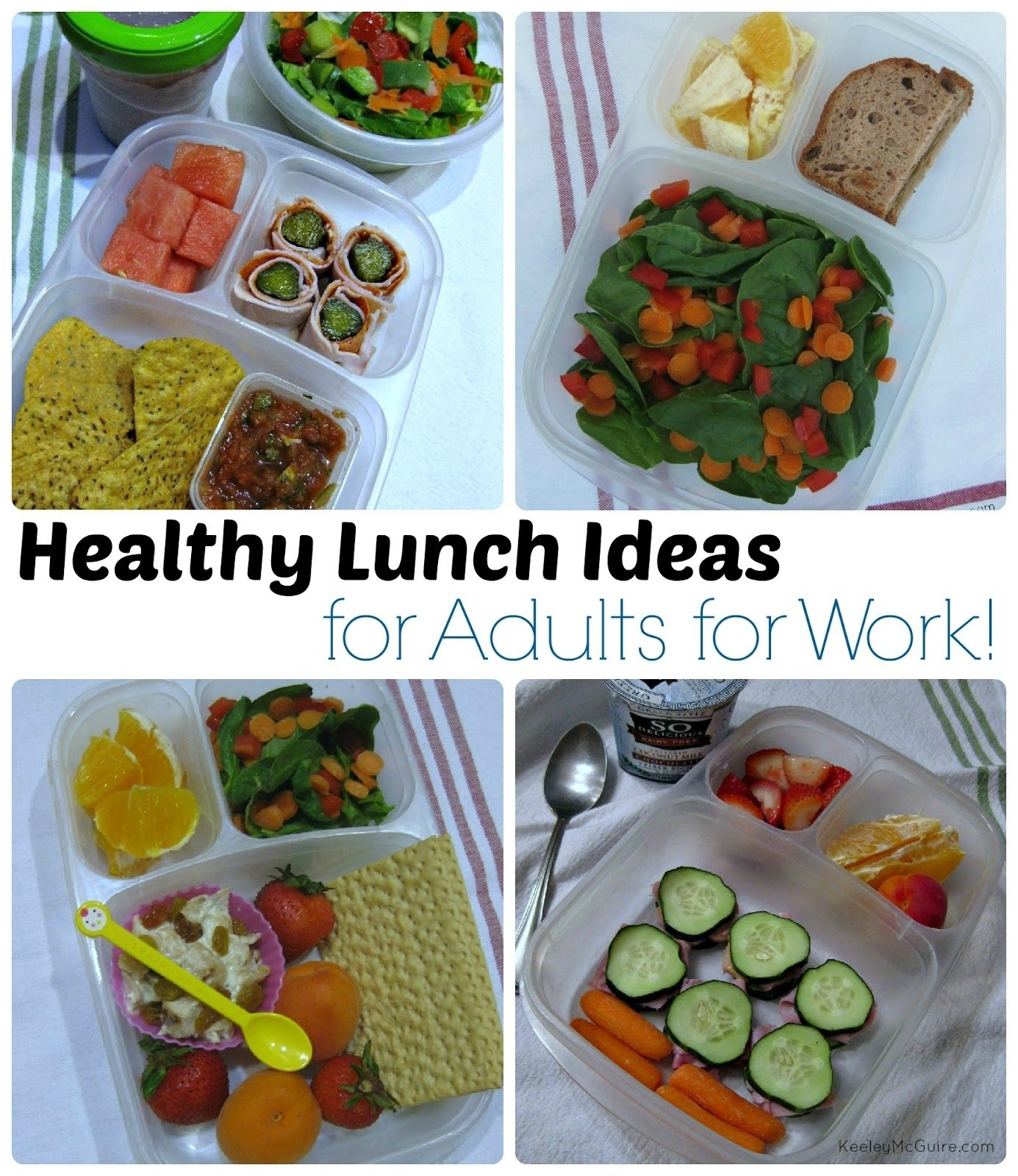 10 Beautiful Quick Healthy Lunch Ideas For Work gluten free allergy friendly lunch made easy healthy adult work 3 2020