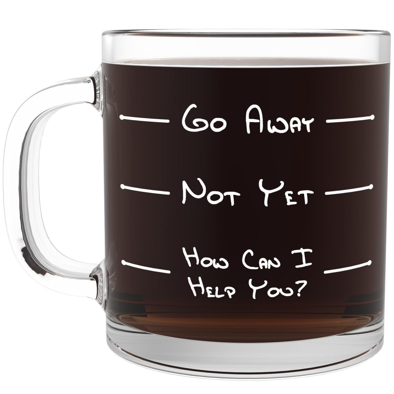 10 Elegant Birthday Gift Ideas For Mom From Son Go Away Funny Glass Coffee Mug Unique