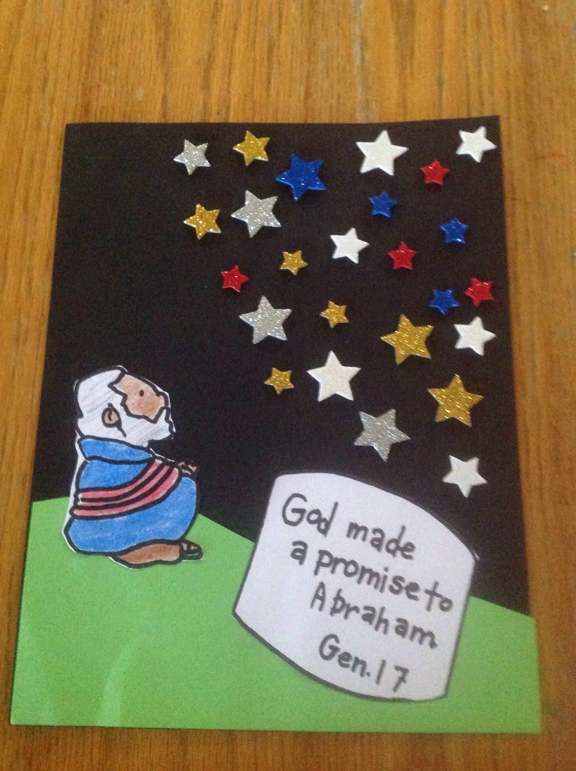 10 Nice Sunday School Ideas For Toddlers god made a promise to abraham craftlet abraham 2020