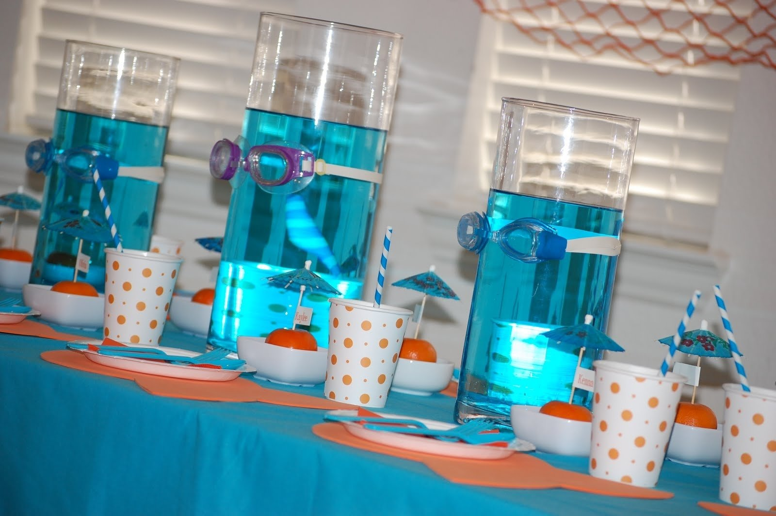 10 Fabulous Under The Sea Centerpiece Ideas goggle centerpieces under the sea pinterest birthdays 2020