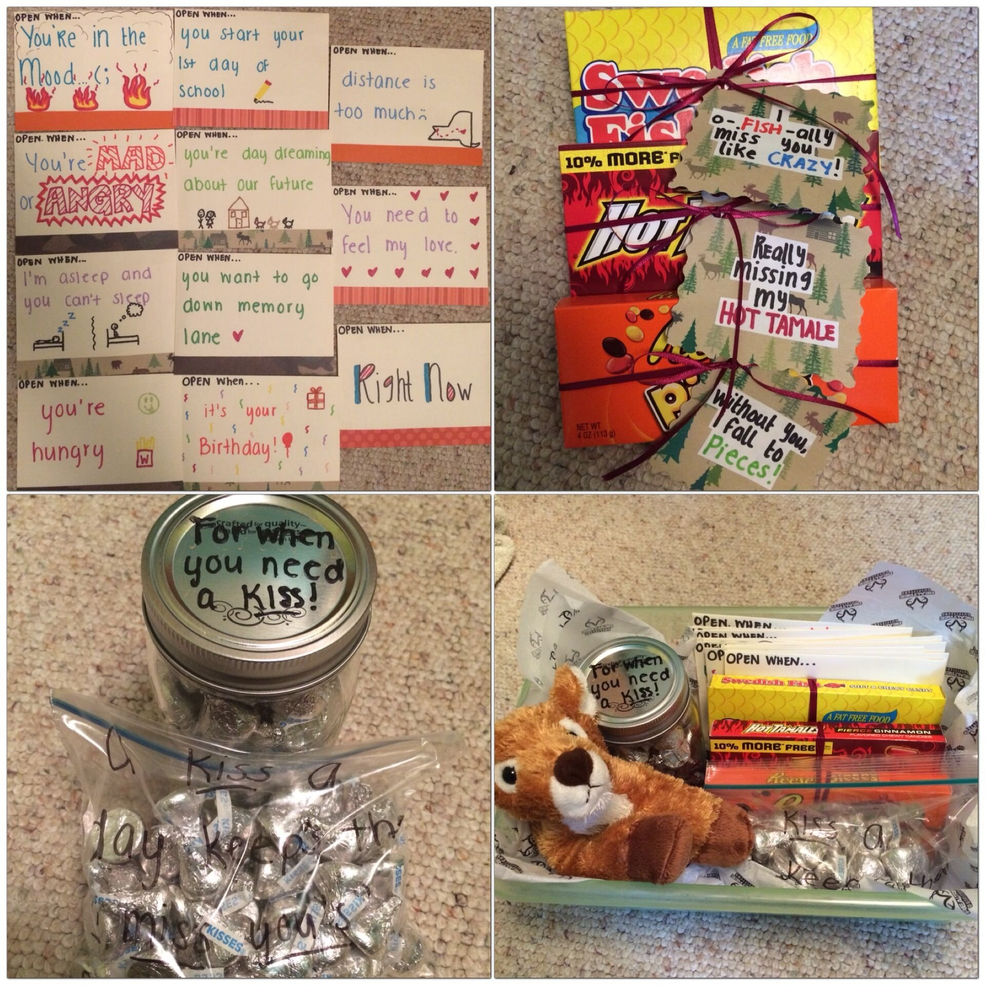 10 Most Popular Gift Ideas For My Boyfriend going away gift for my boyfriend 11 open when cards and candy