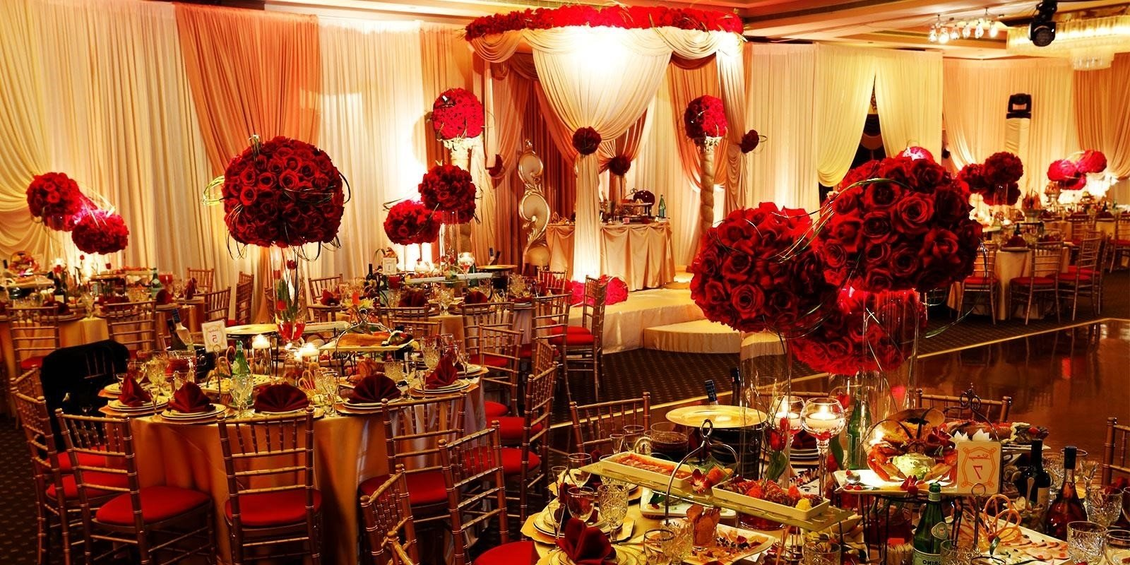 10 fantastic red and gold wedding ideas 10 fantastic red and gold wedding ideas gold wedding theme reception gallery wedding decoration ideas junglespirit Image collections