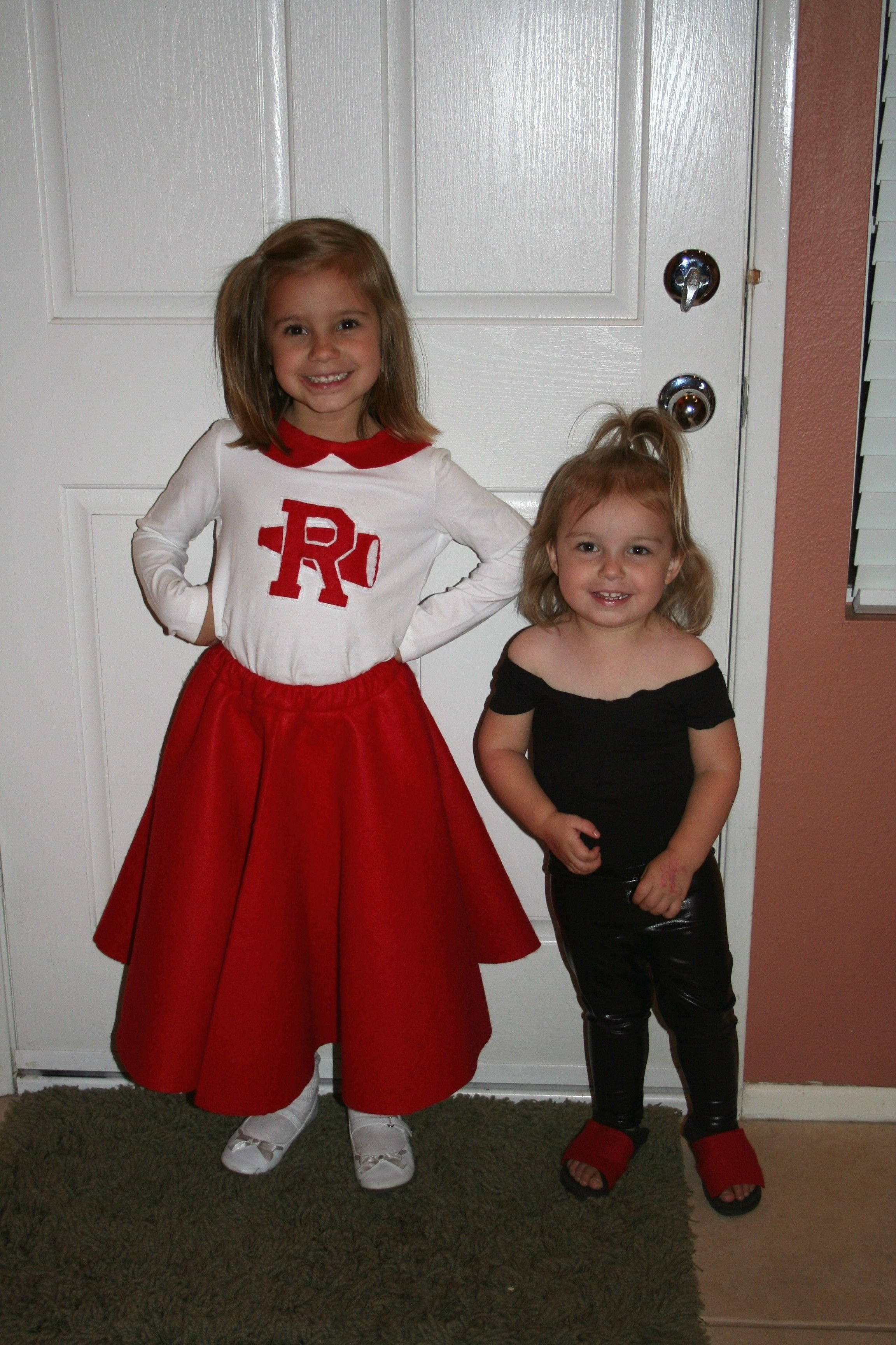 10 Cute Costume Ideas For 2 Girls good and bad sandy halloween costume for 2 girls halloween pop 1 2020