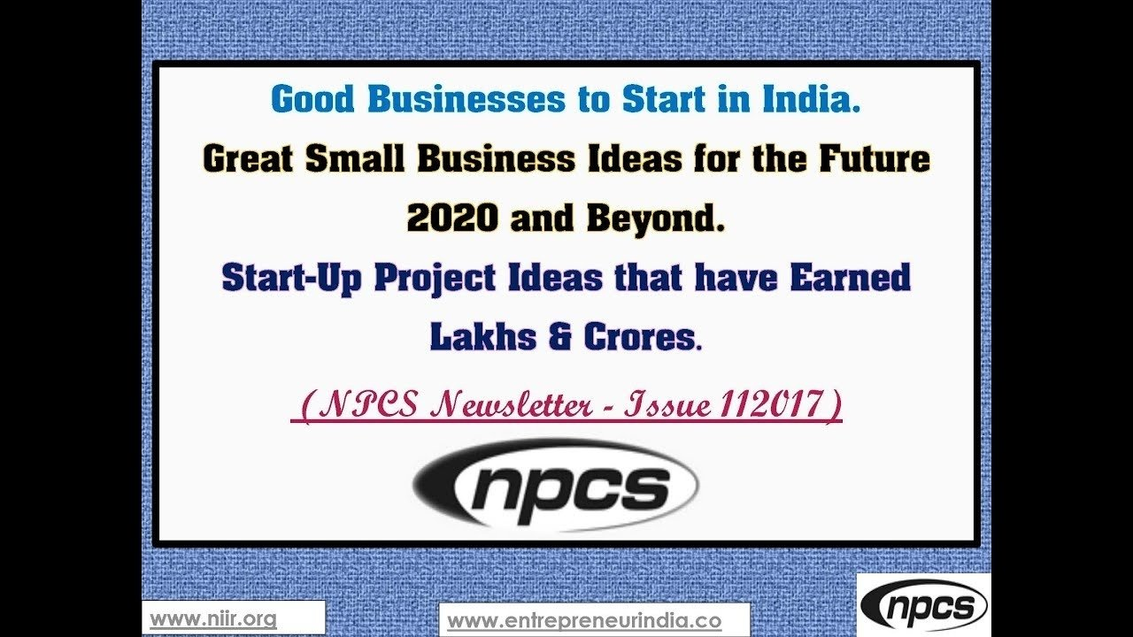 10 Cute Business Ideas For The Future good businesses to start in india great small business ideas for 2020