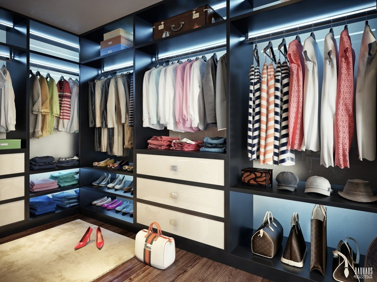 10 Awesome Ideas For Walk In Closets good extraordinary walk in closet plans 19805 2020