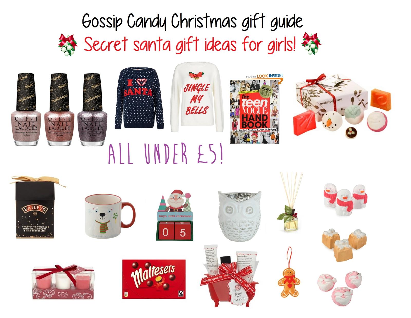 10 Trendy Ideas For Secret Santa Gifts good gift ideas for secret santa my web value 2