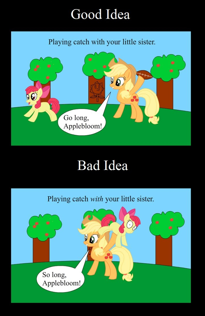 10 Elegant Good Idea Bad Idea Animaniacs good idea bad idea applejackanimegx43 on deviantart 1