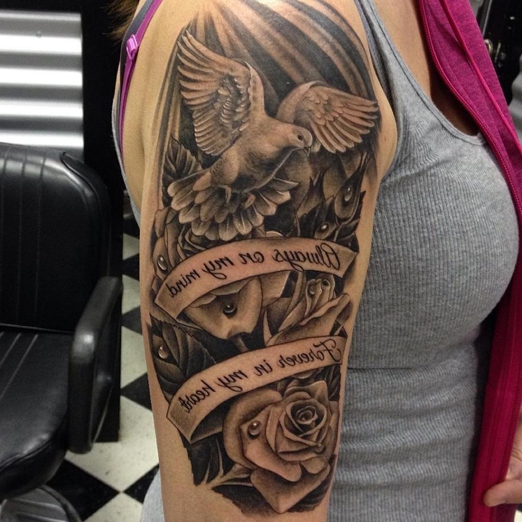 10 Stunning Ideas For Half Sleeve Tattoos %name 2020
