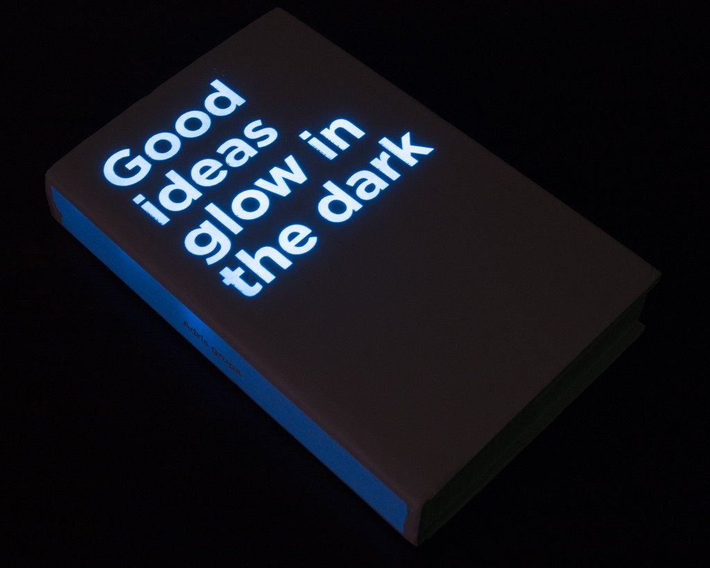 good ideas glow in the dark | the 2008 annual report for inv… | flickr