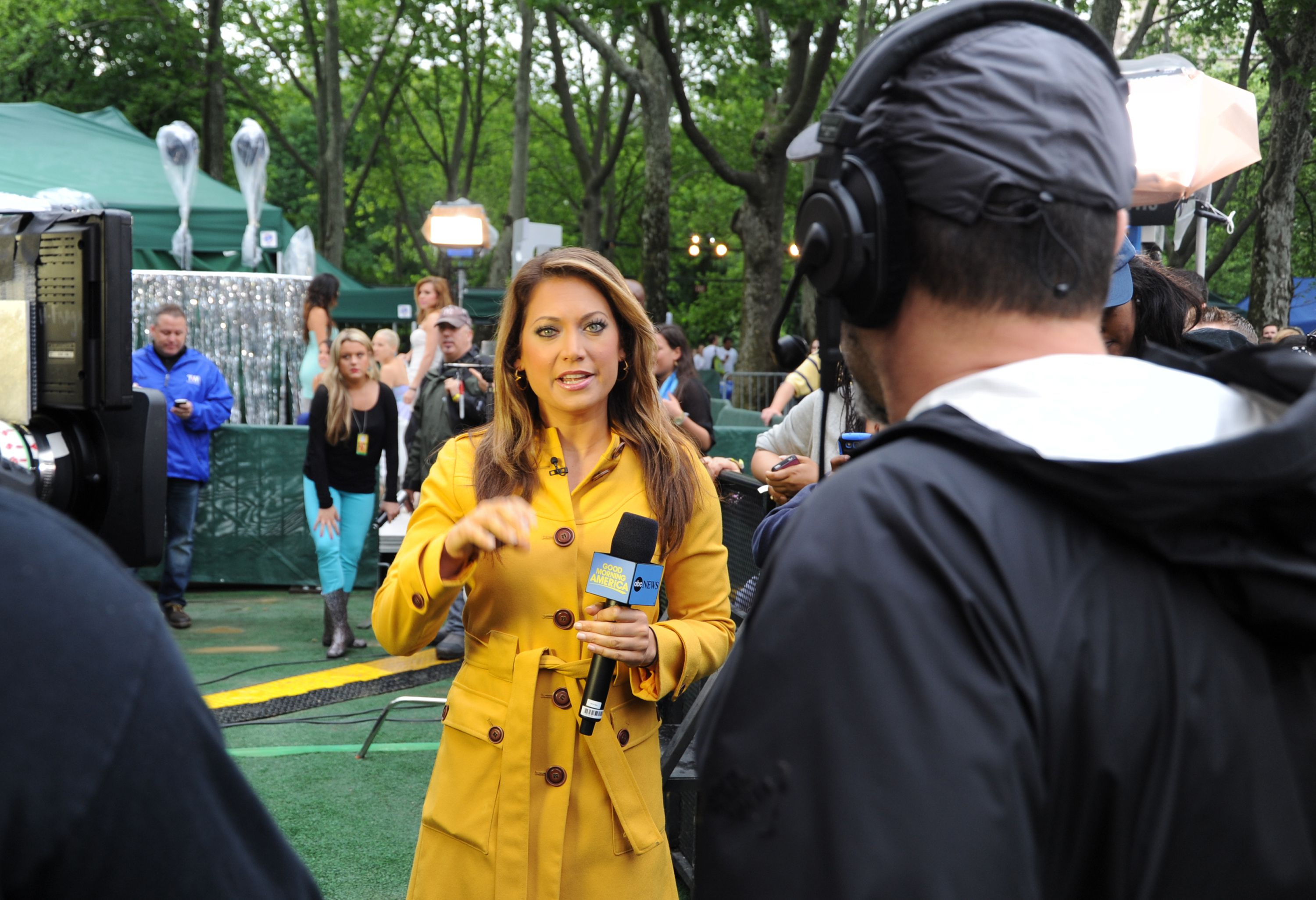 good morning america' star ginger zee defends her choice to head to