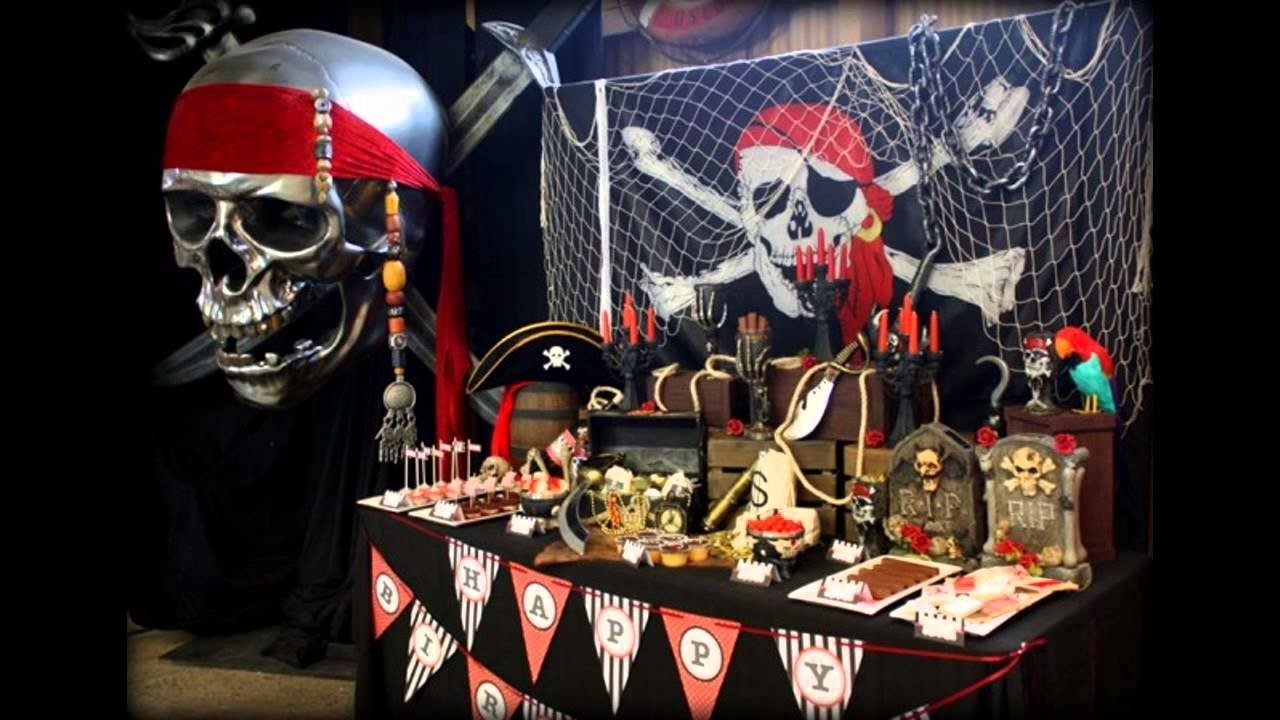 10 Stunning Pirate Party Ideas For Adults good pirate party decorating ideas youtube 2020